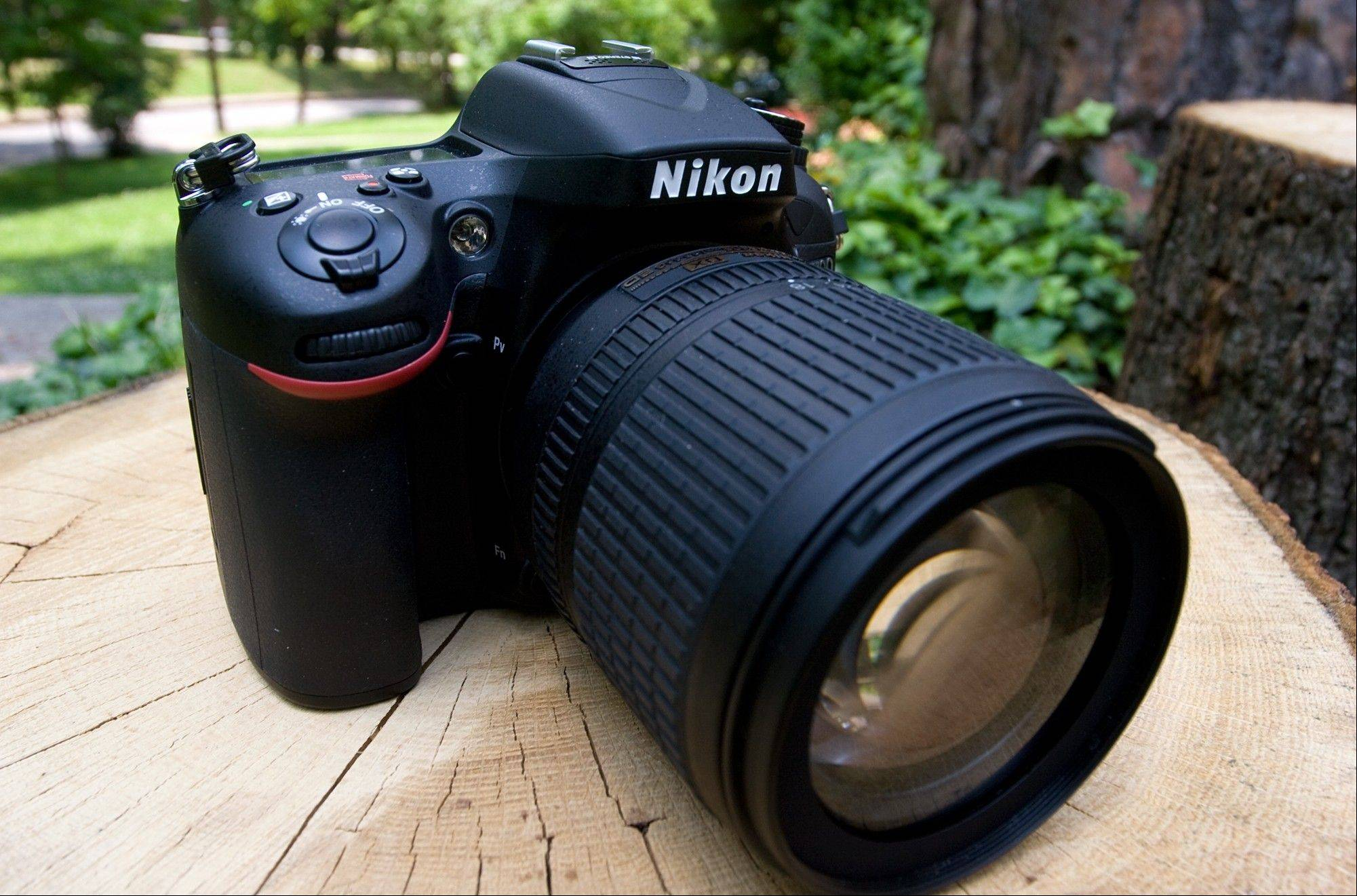 The Nikon D7100 is a 24-megapixel DSLR that can shoot high-definition video.