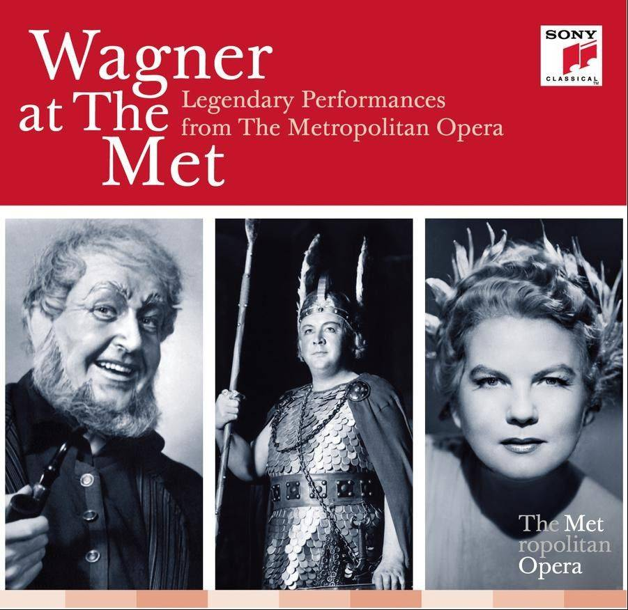 """Wagner at the Met: Legendary Performances From The Metropolitan Opera"" performed by various artists"
