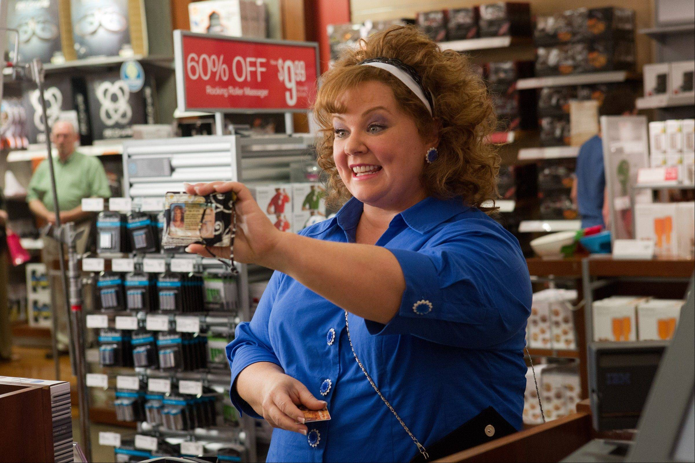 "Melissa McCarthy stars in the comedy ""Identity Thief."""