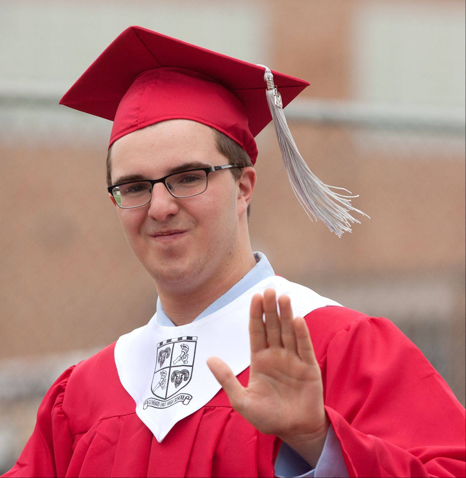 Images from the Glenbard East High School graduation on Saturday, June 1 at the school in Lombard.