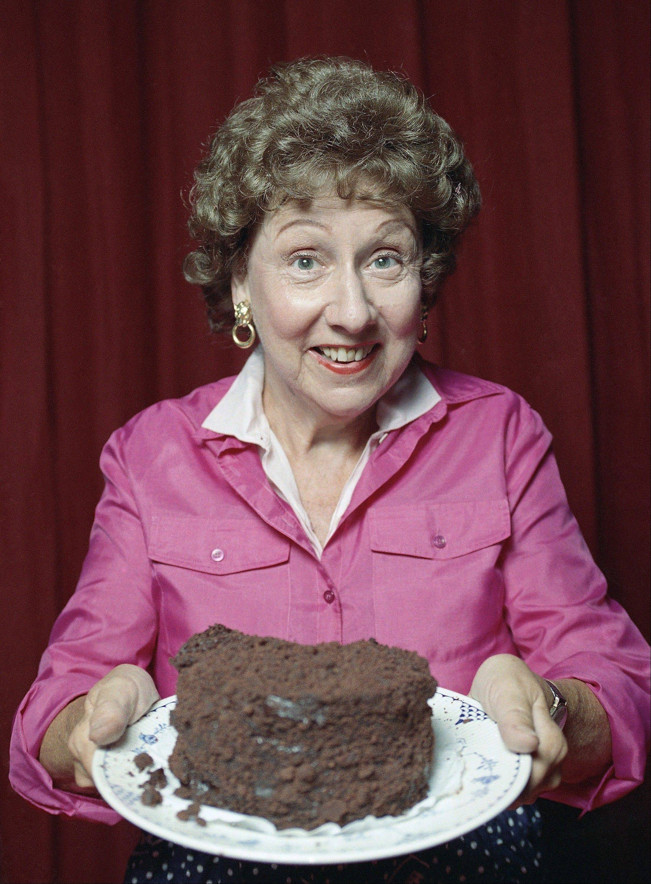 "Jean Stapleton in the off-Broadway musical theater piece called ""Bob Appetit."""