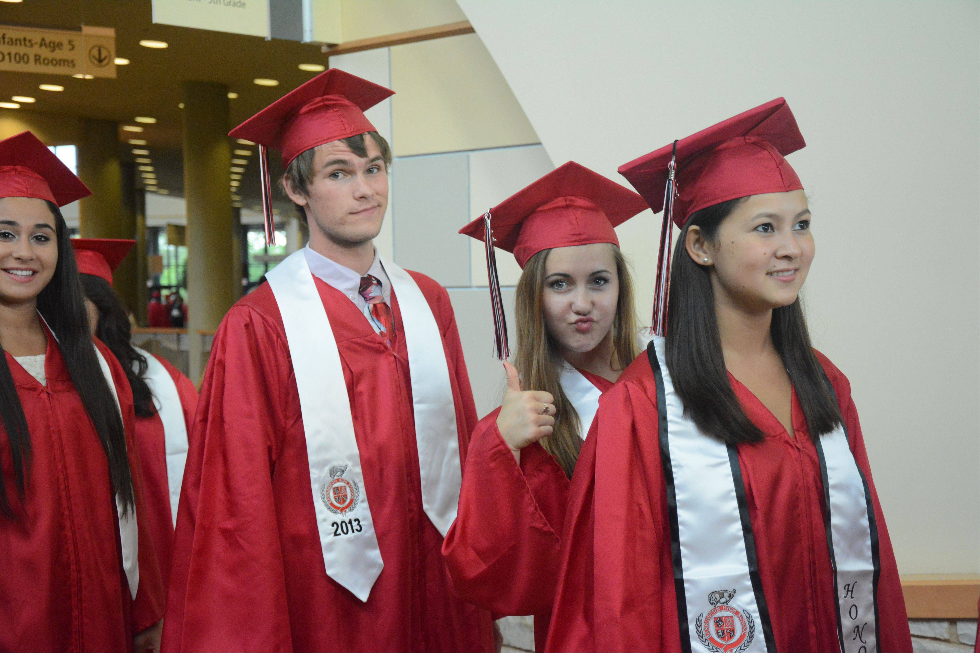 Images from the Barrington High School graduation on Friday, May 31, at Willow Creek church in South Barrington.