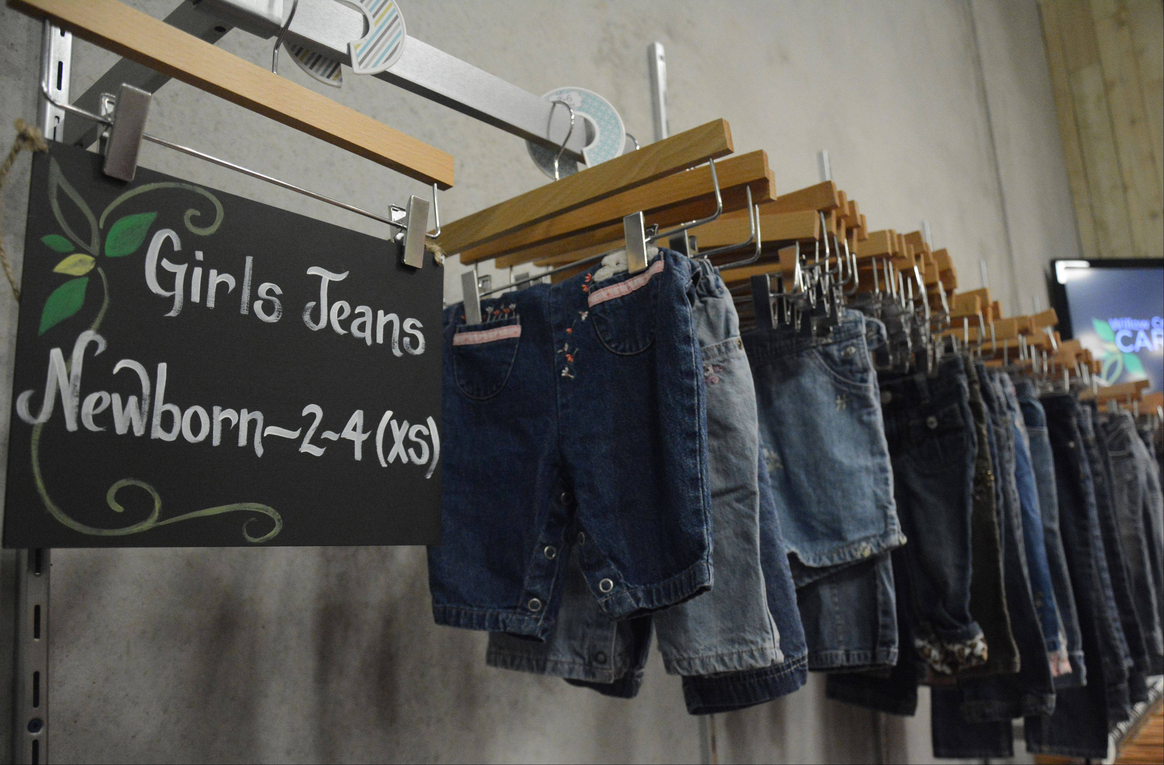 The Care Center also includes a used clothing store.
