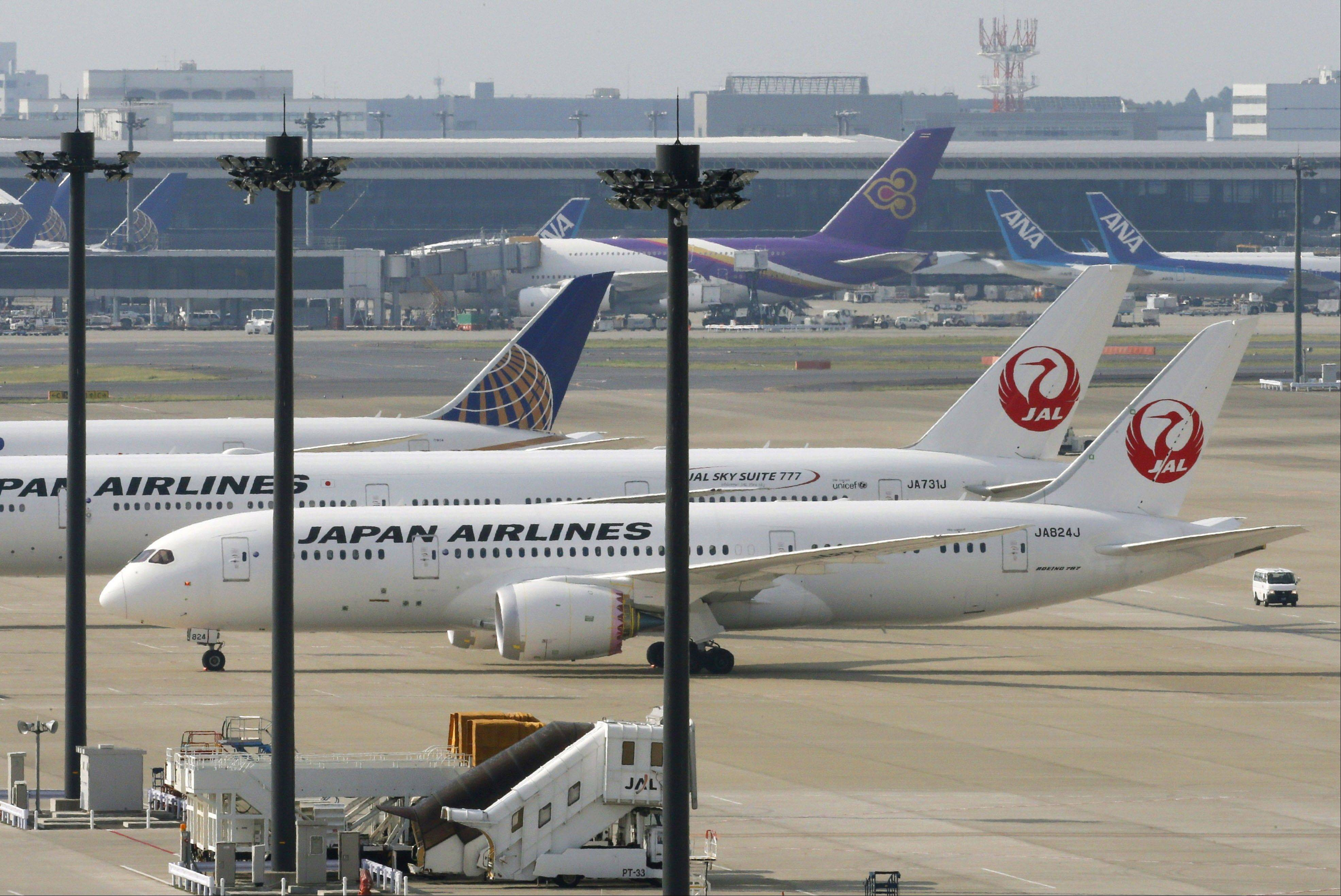A sensor problem was found Sunday in one of the exchanged batteries for a JAL Boeing 787 jet due to bound for Beijing from Haneda but did not pose a safety risk, a Japanese broadcaster reported.