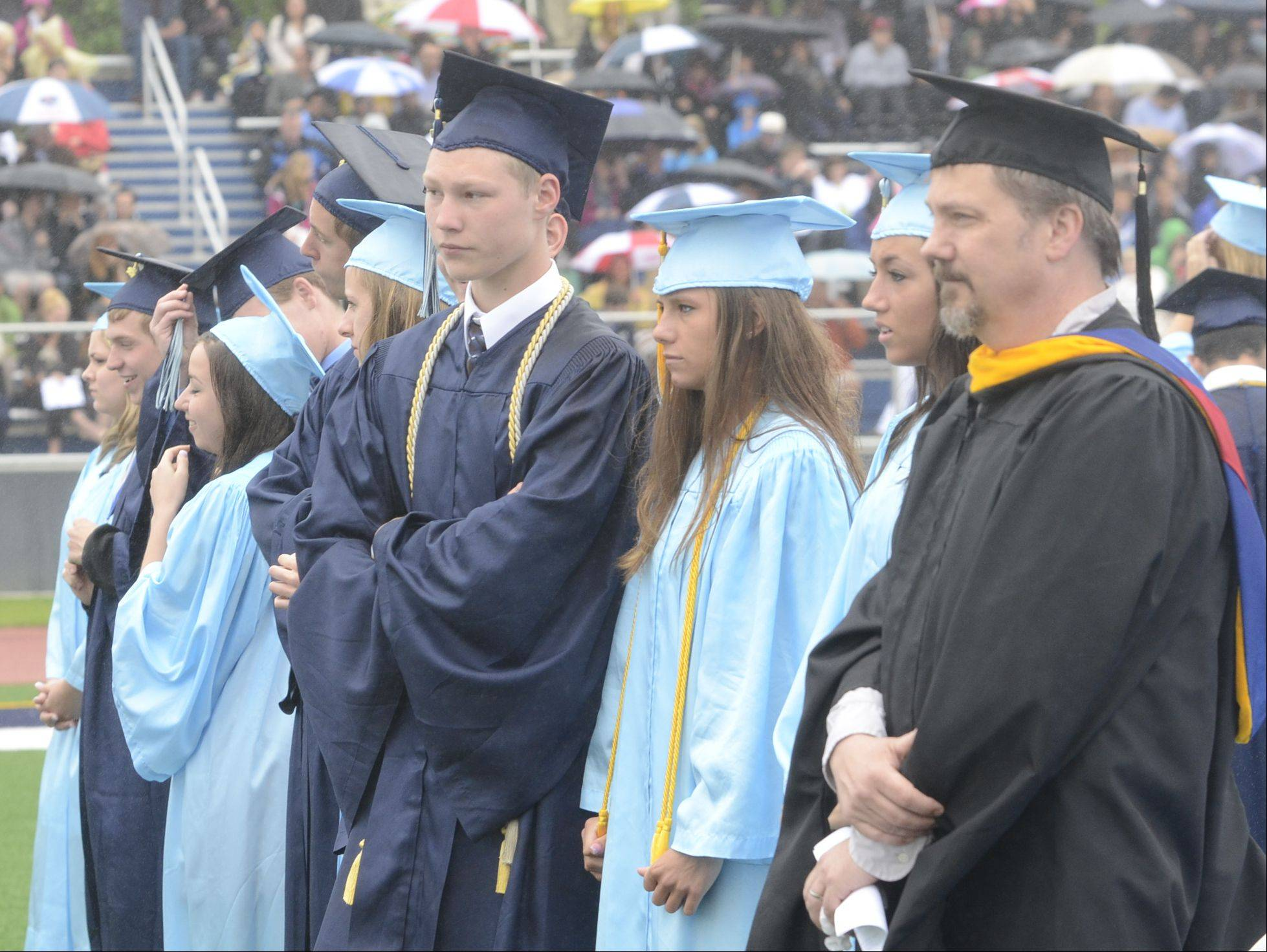 Images from the Prospect High School graduation on Sunday, June 2, at the school.