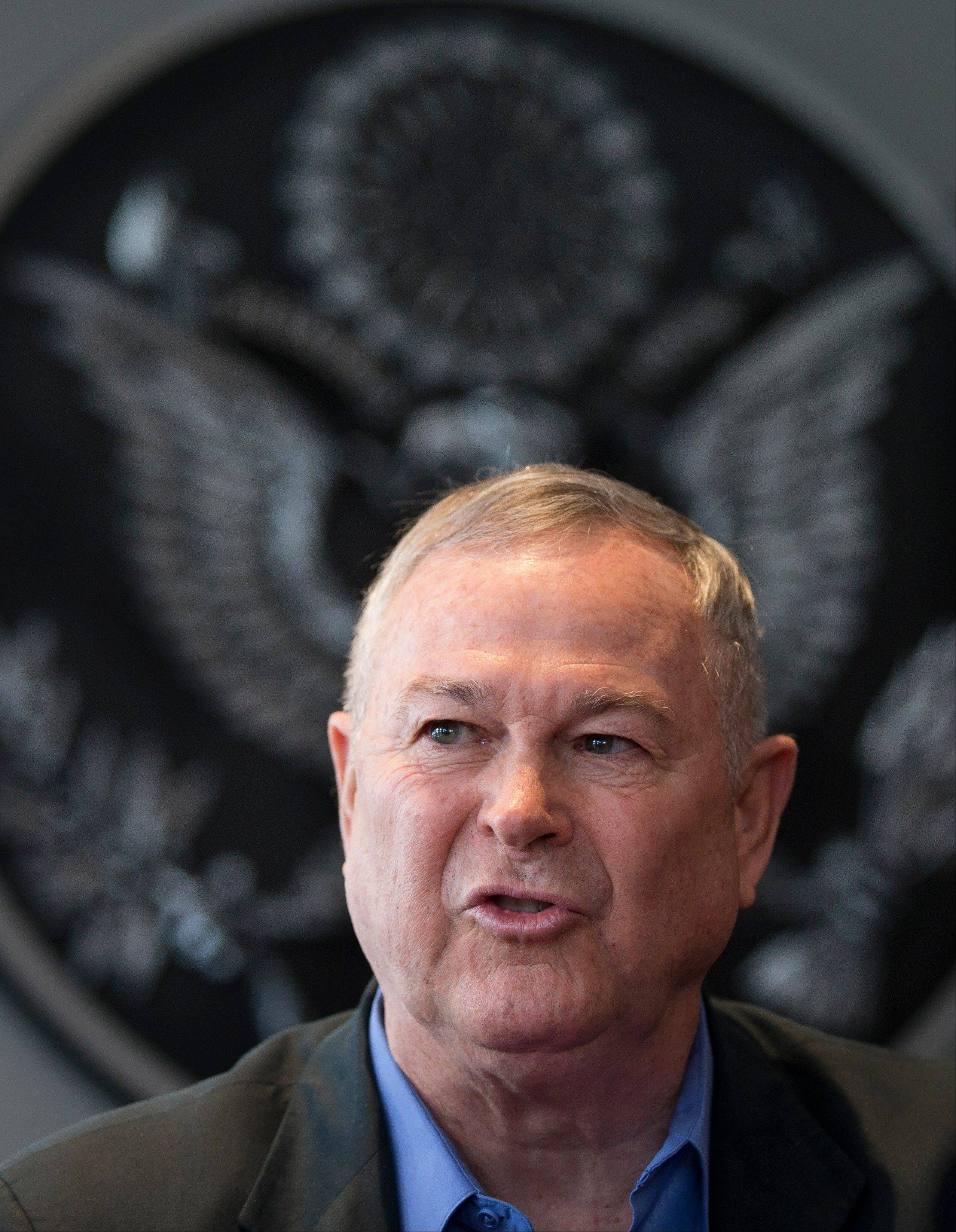 Rep. Dana Rohrabacher, who is leading a U.S. congressional delegation to Russia this week, said at a press conference Sunday that there was �nothing specific� that could have helped April�s bombings, but that the U.S. and Russia needed to work more closely on joint security threats.