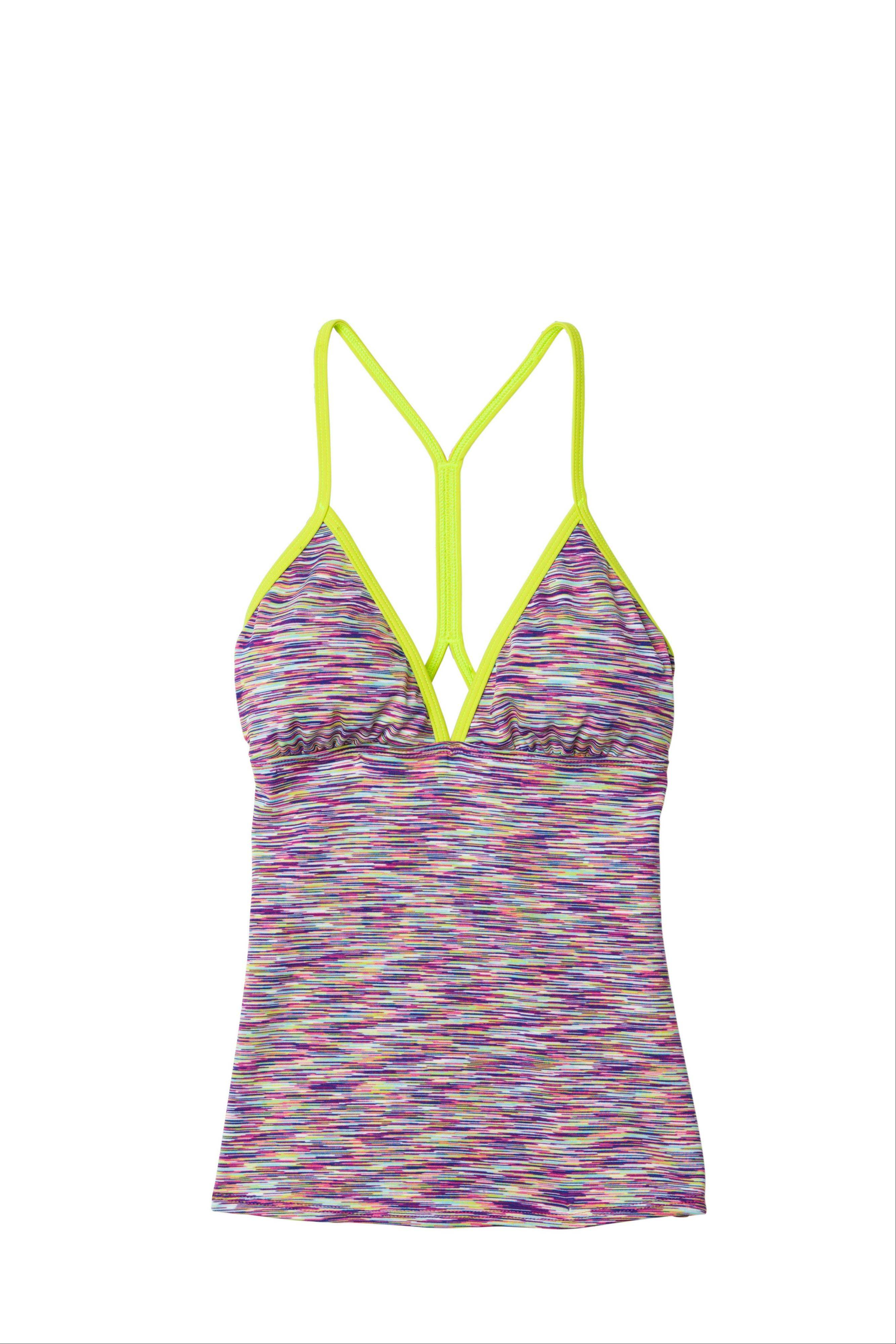 Swim separates, including bikini and tankini tops, and brief, bikini and short-style bottoms, were introduced into wide distribution several years ago. They were intended to solve a practical problem when consumers needed a bigger top or bigger bottom, but women have since started using them to make a style statement.