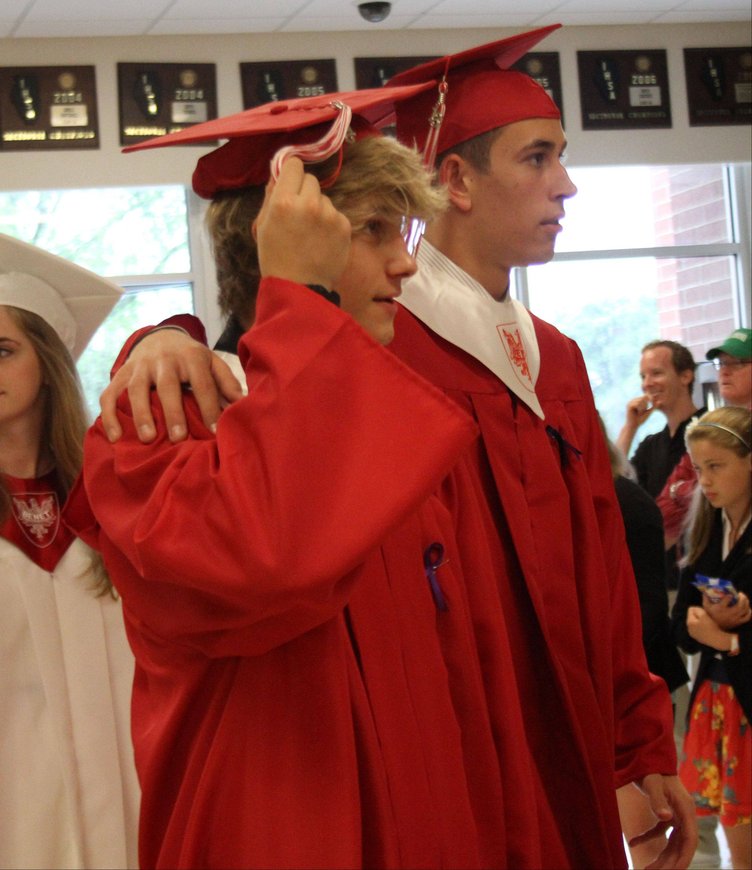Images from the Benet Academy graduation on Sunday, June 2 at the school in Lisle.