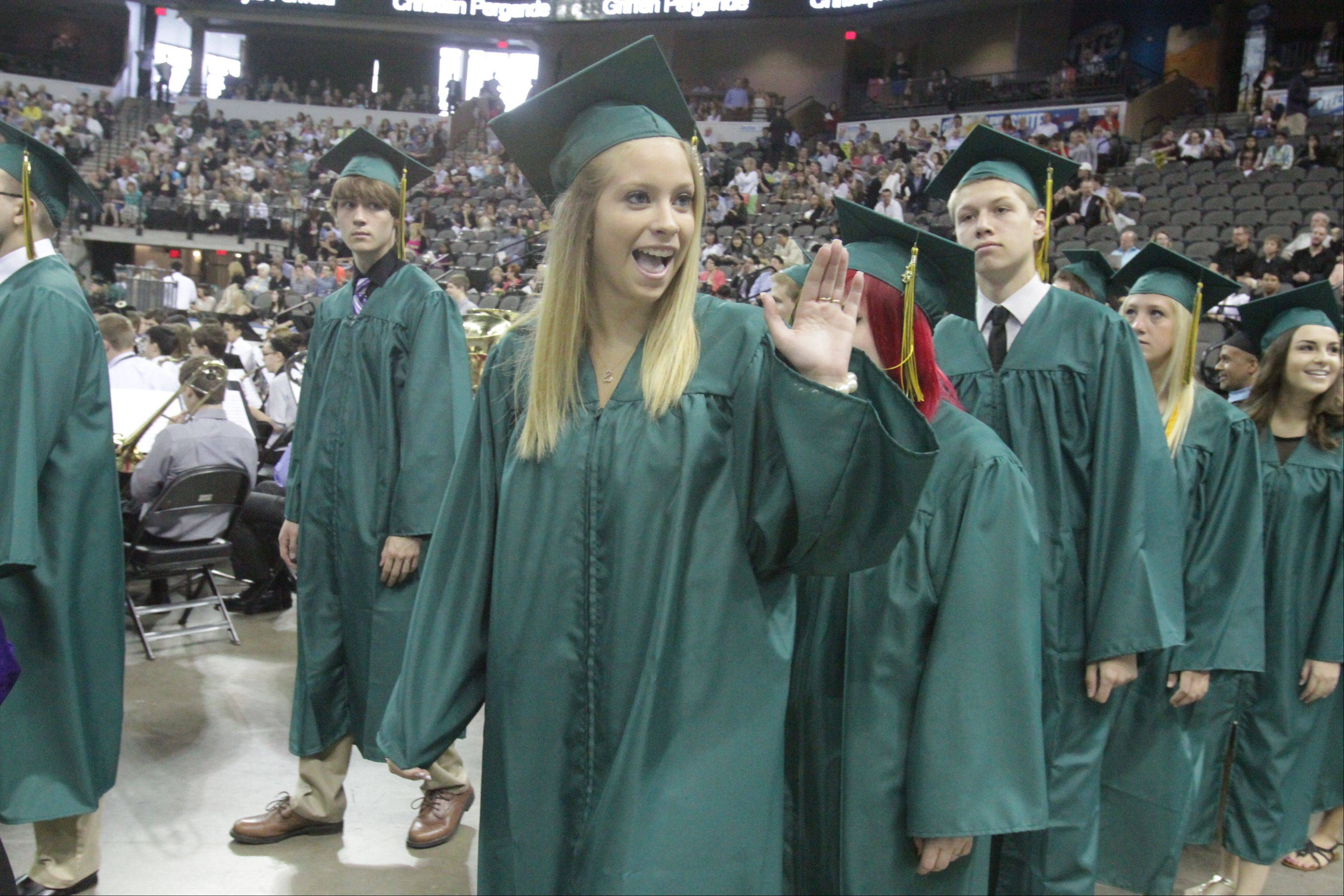 Images from the Fremd High School graduation on Sunday, June 2, at the Sears Centre in Hoffman Estates