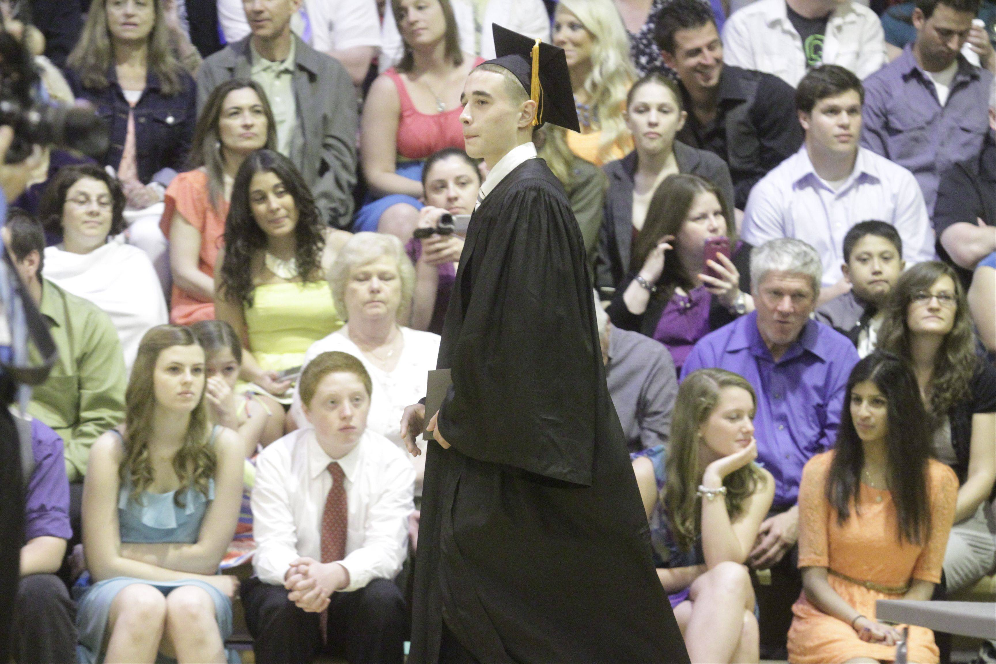 Images from the Hersey High School graduation on Sunday, June 2, at the school.