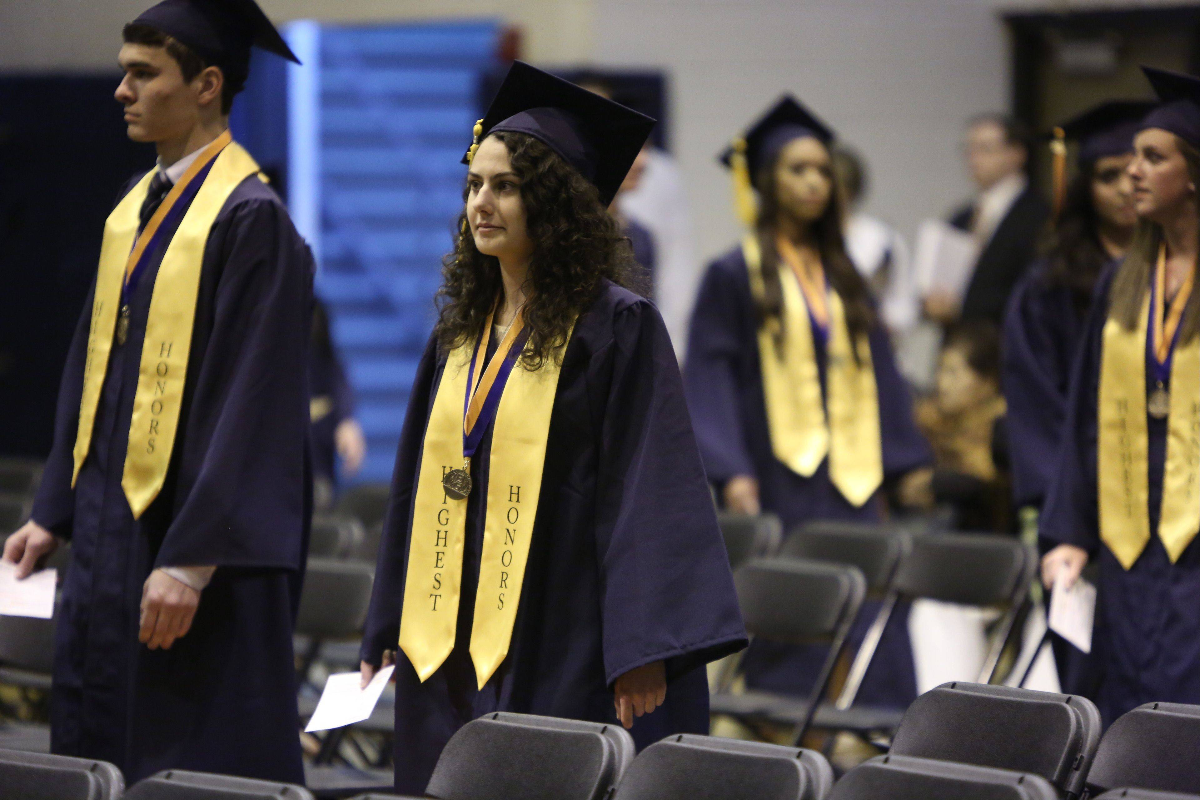 Images from the Buffalo Grove High School graduation on Sunday, June 2, at the school.