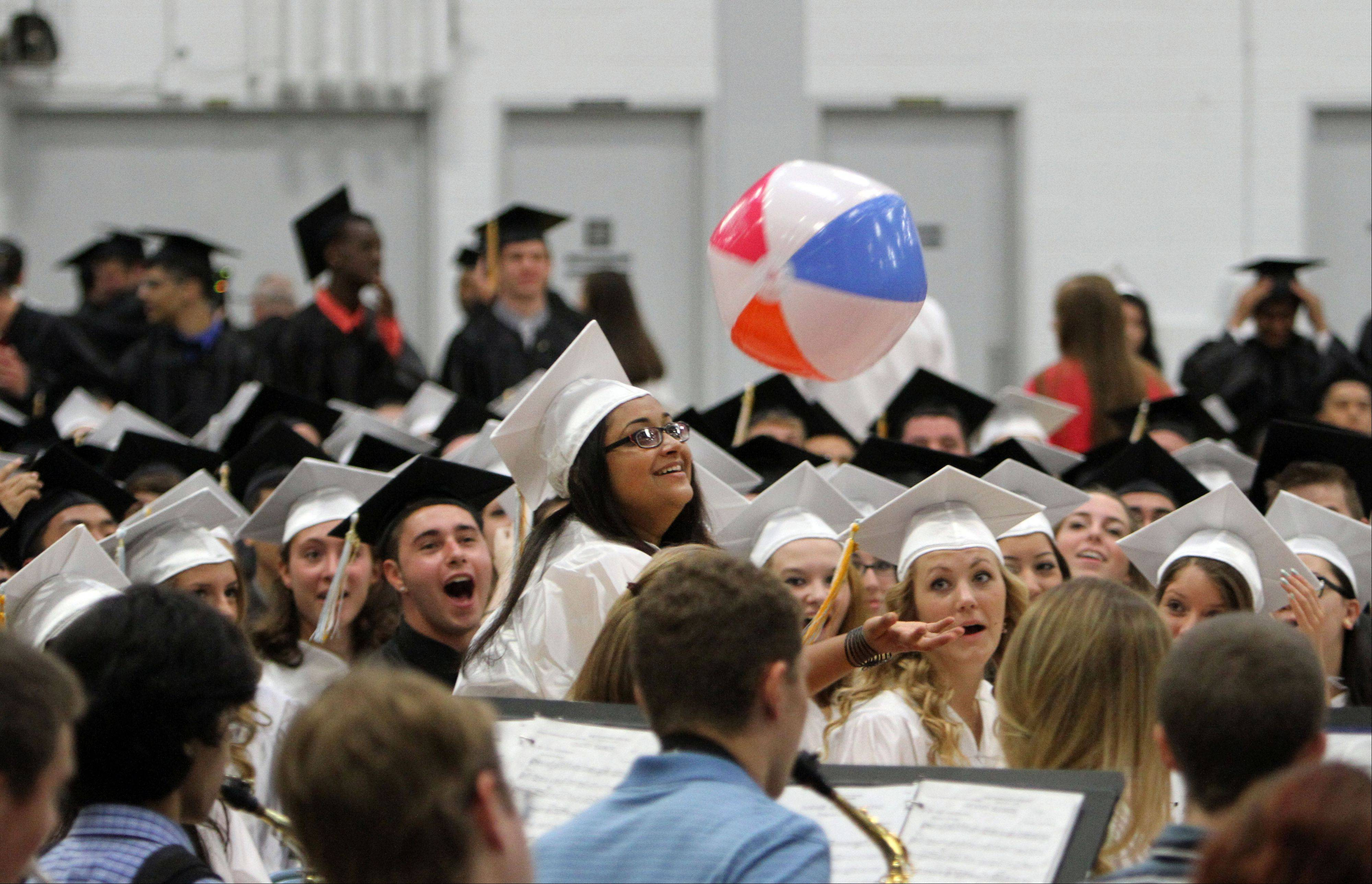 Images from the Maine West High School graduation on Sunday, June 2, at the school.