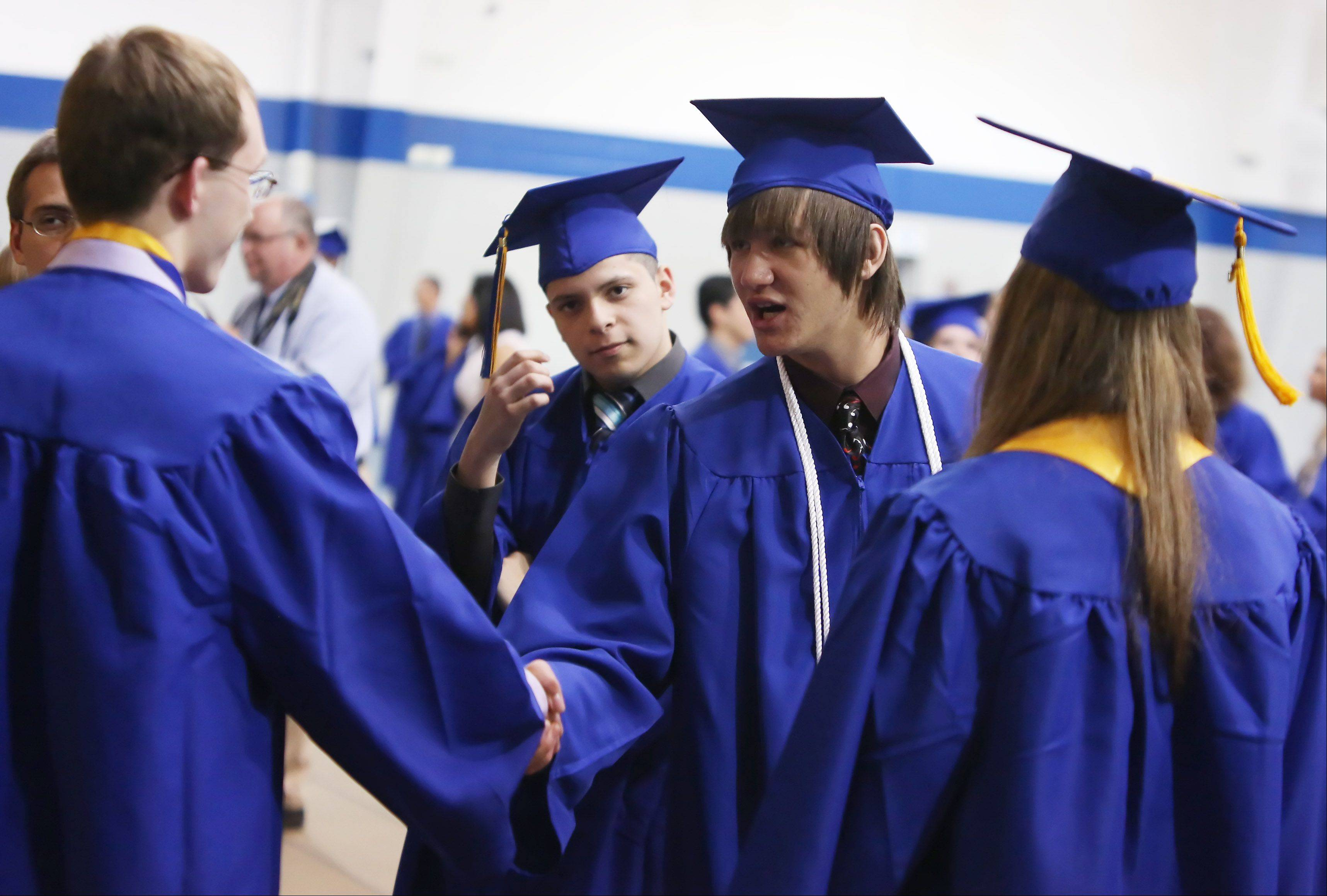 Images from the Wheeling High School graduation on Sunday, June 2, at the school.