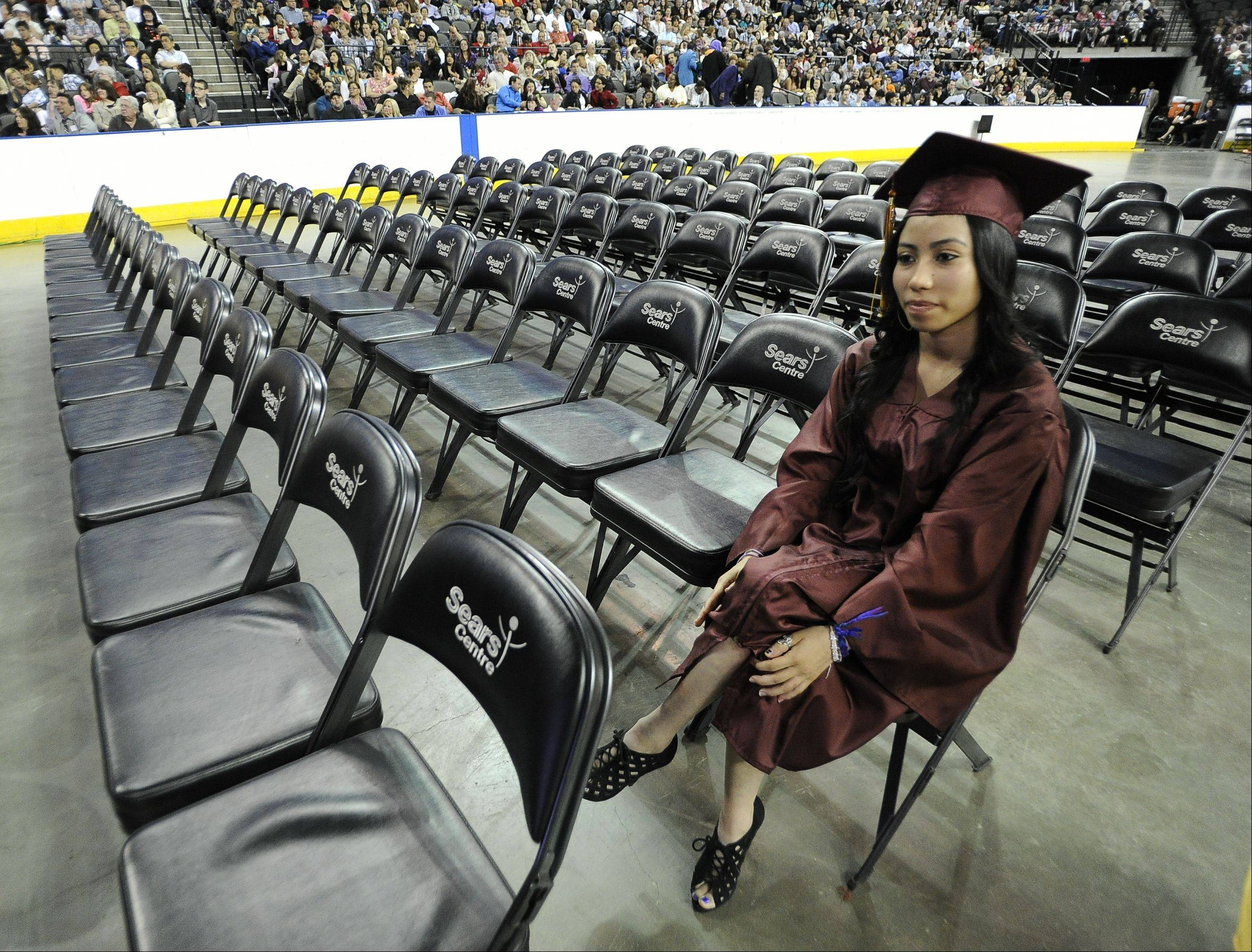 Images from the Schaumburg High School graduation on Sunday, June 2, at the Sears Centre in Hoffman Estates