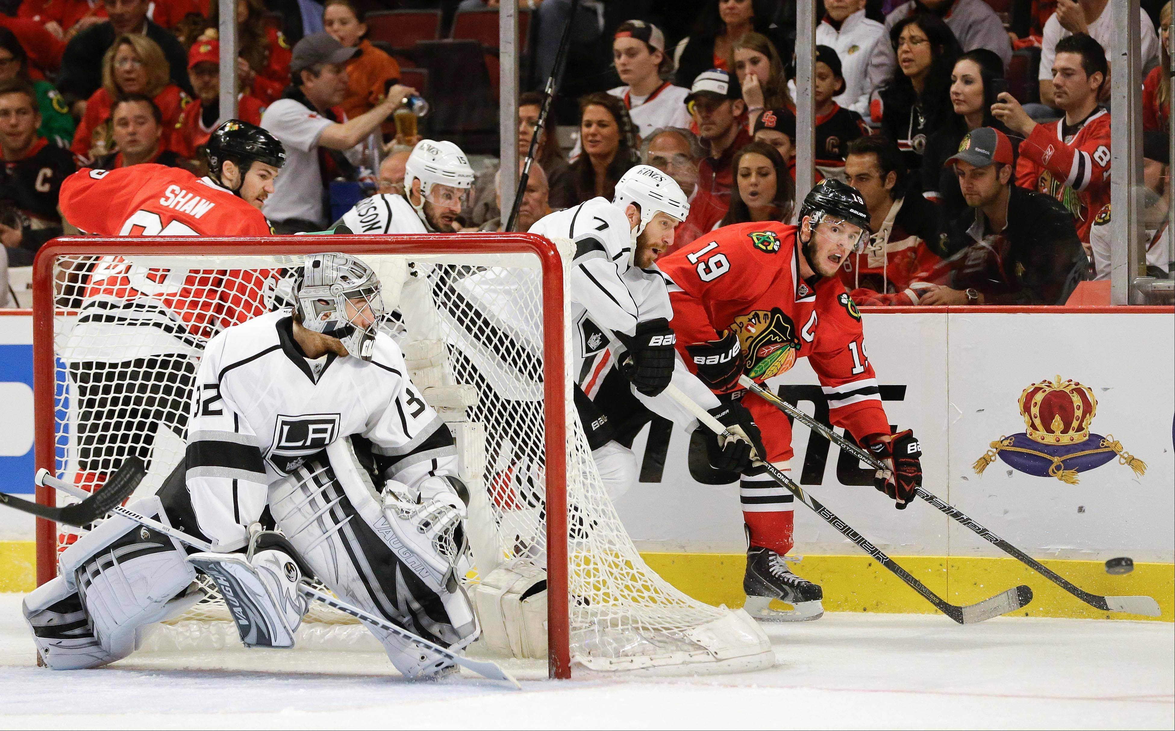 Image result for Jonathan Toews Jonathan Quick