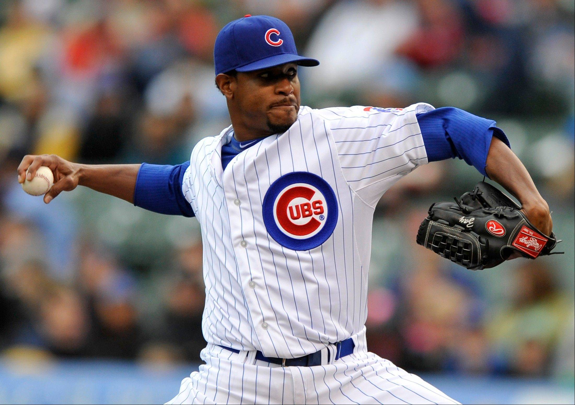 Cubs starter Edwin Jackson, who signed a four-year, %52 million contract during the off-season, is 1-8 with a 6.29 ERA this campaign.