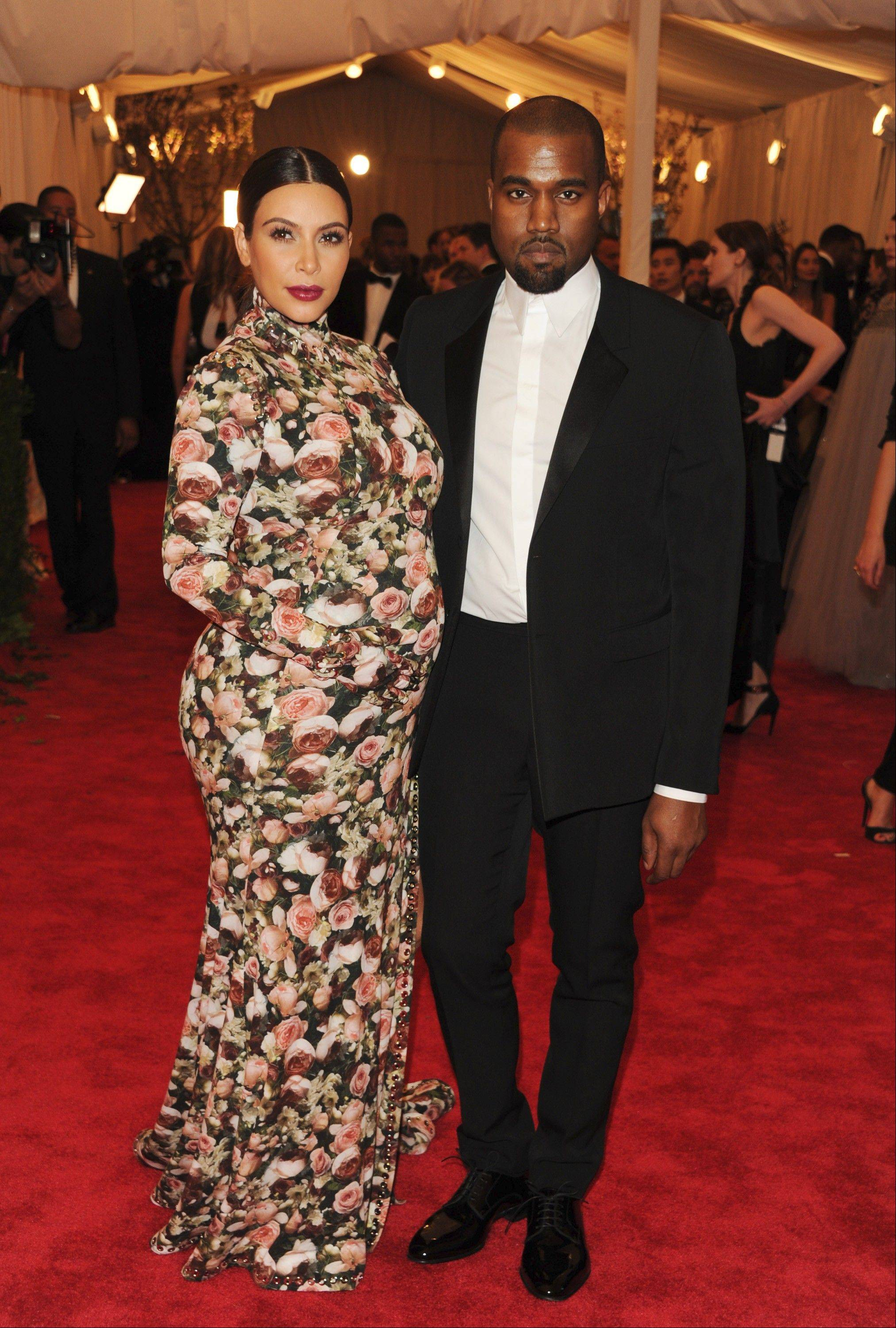 It's a girl for Kim Kardashian and Kanye West.