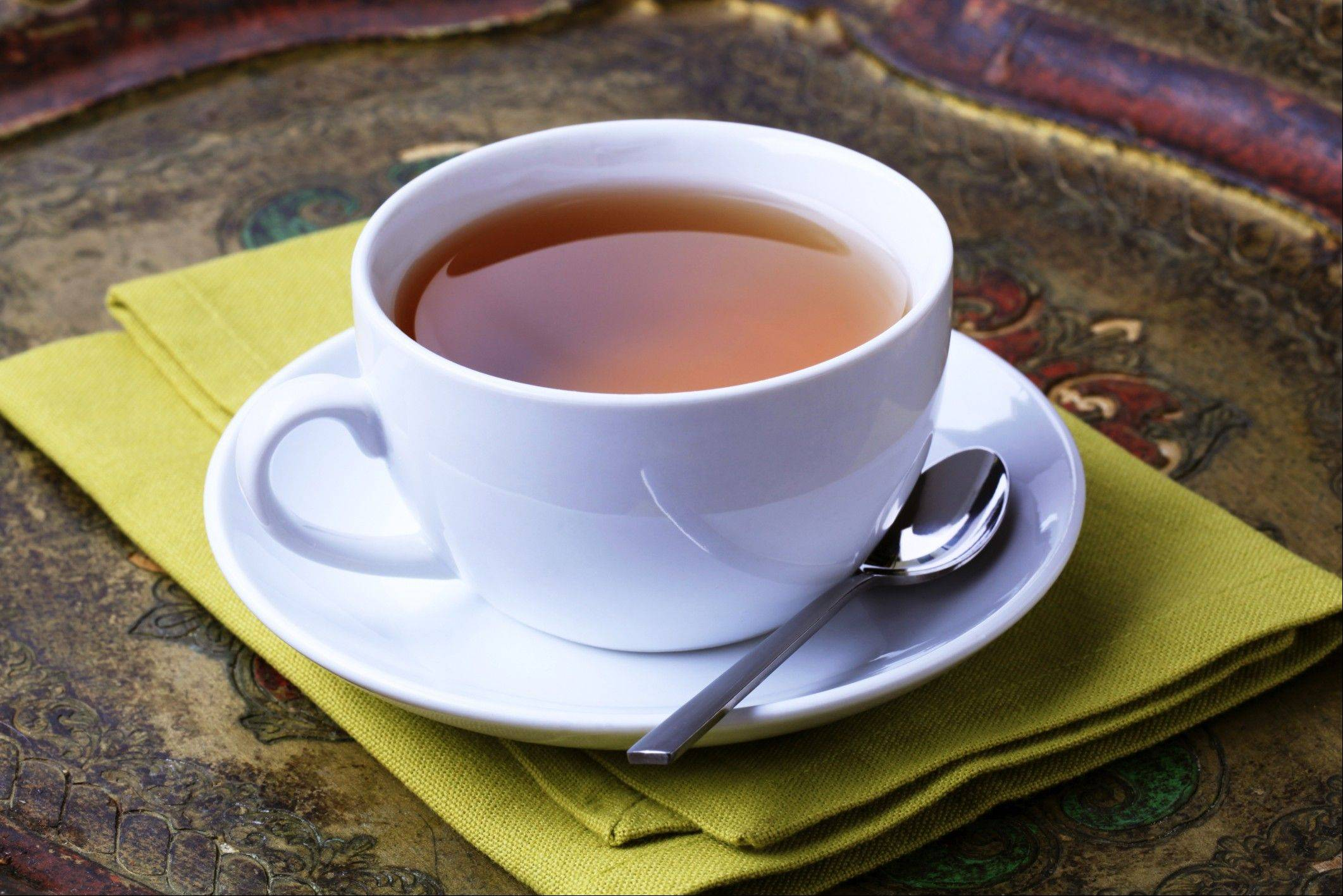 More people are drinking tea because of its health benefits.