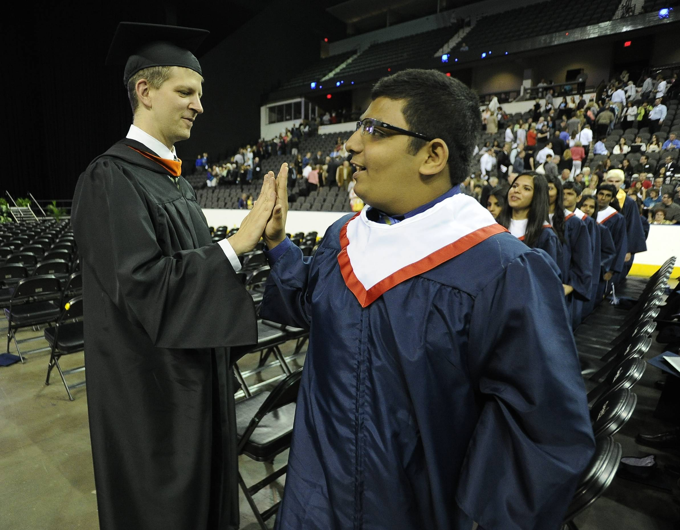 Images from Conant High School's graduation on Sunday, June 2.