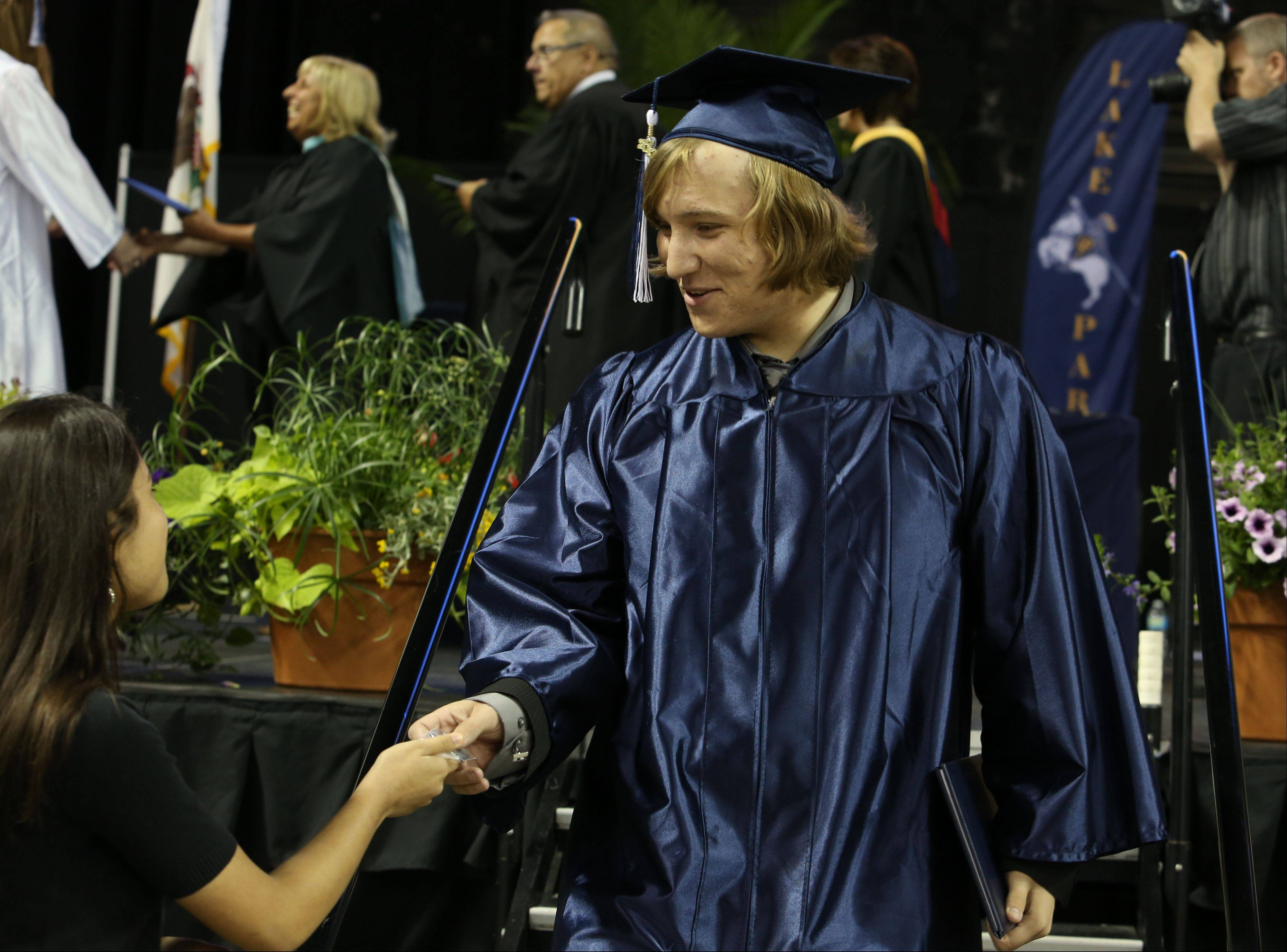 Images from the Lake Park High School graduation on Monday, June 3 at the Sears Centre in Hoffman Estates.