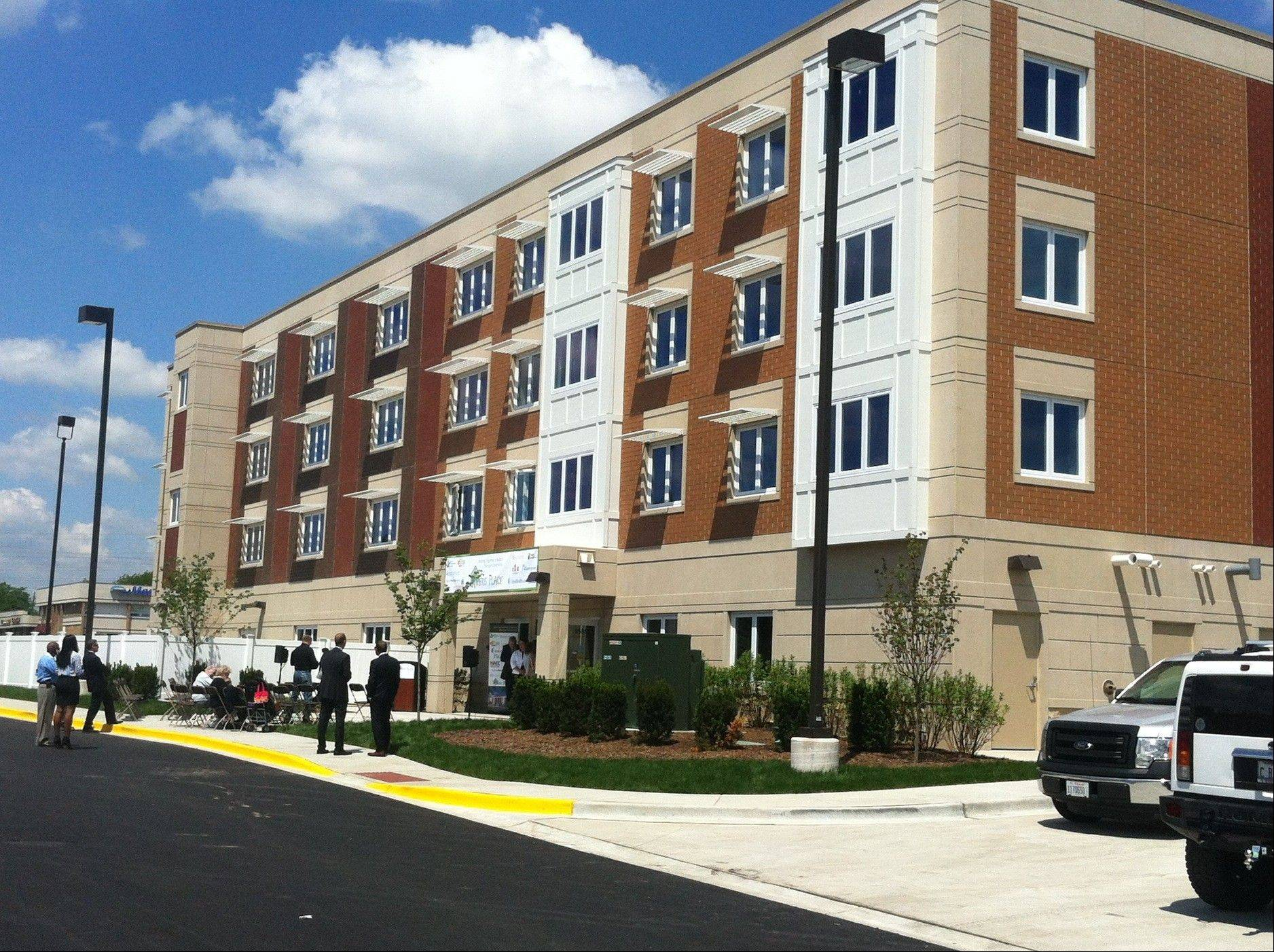 Myers Place, a supportive housing development for people with mental illness, opening in Mount Prospect on Monday.