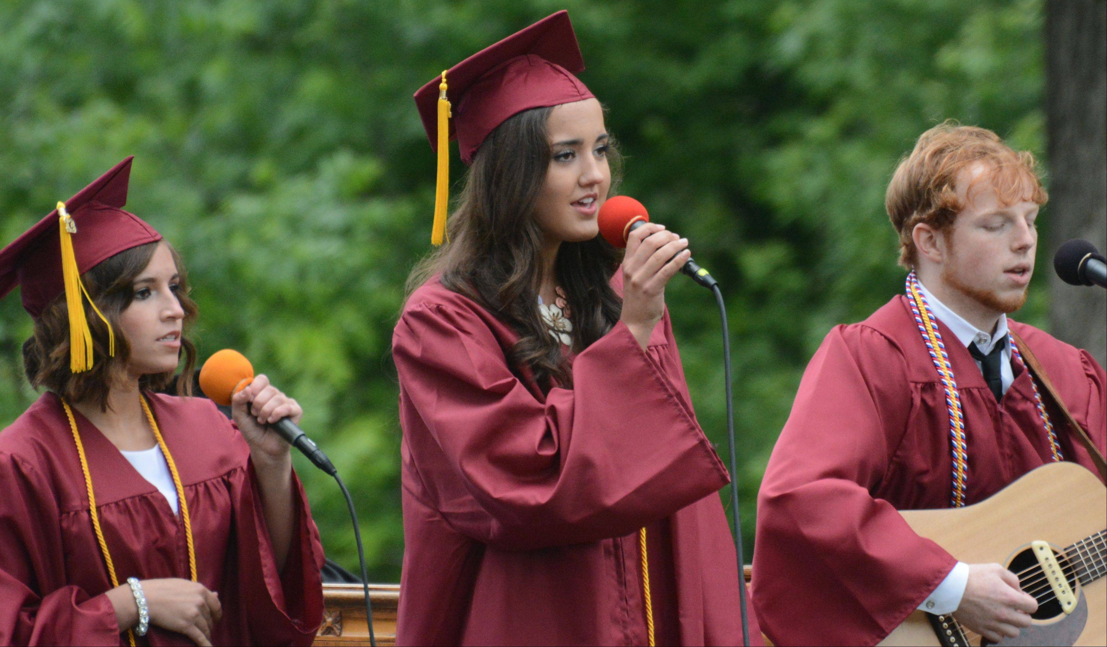 Images from the Wheaton Academy graduation on Sunday, June 2 at the school in West Chicago.