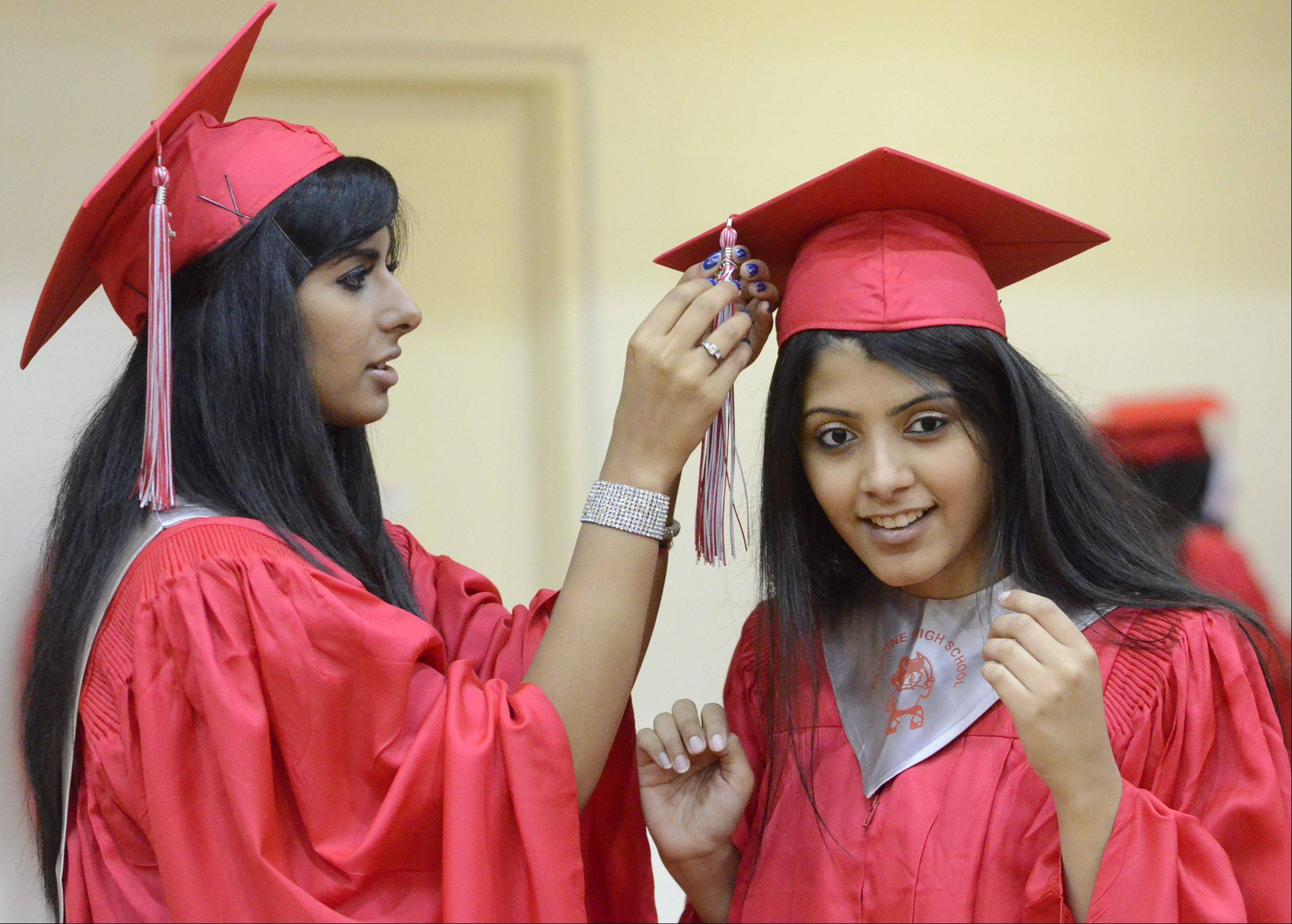 Images from the Palatine High School graduation on Sunday, June 2, at the school.