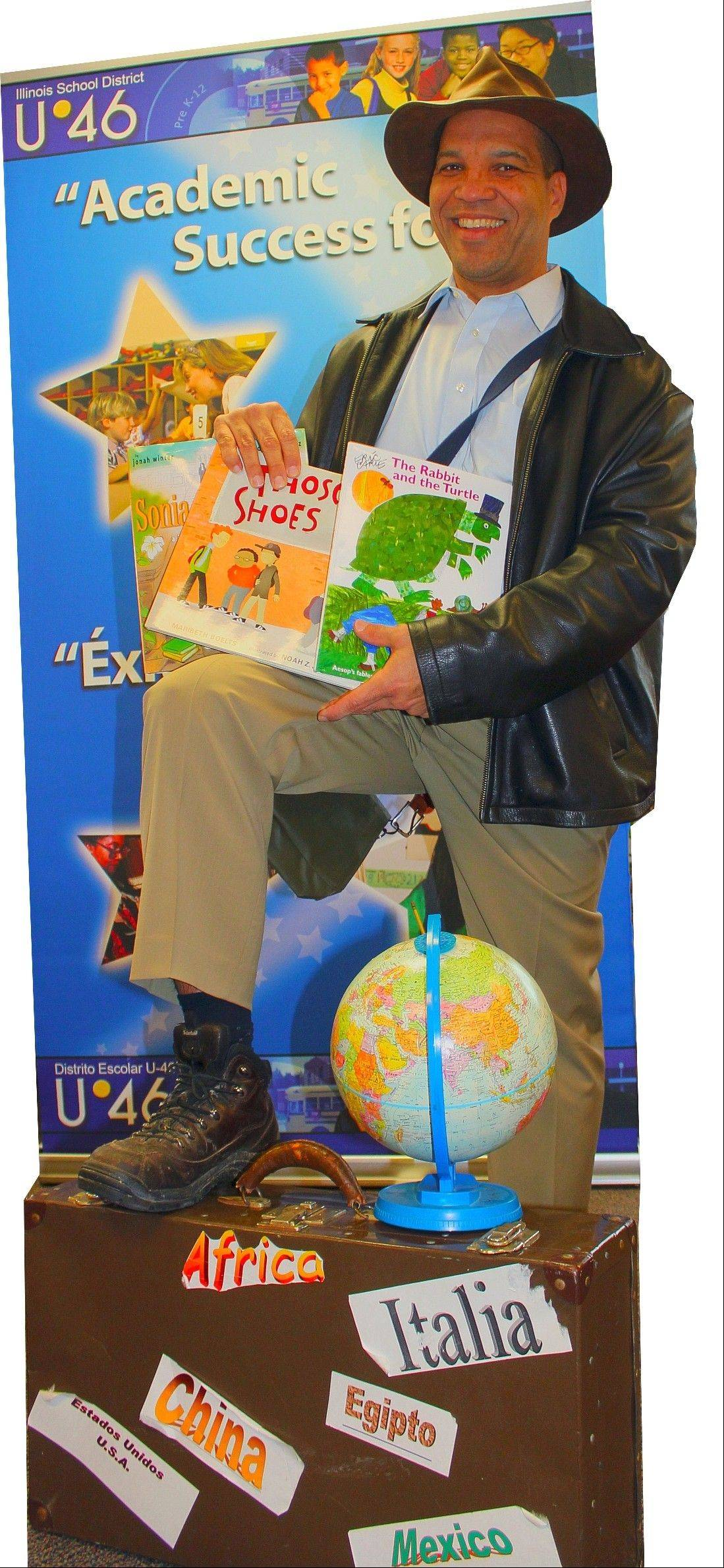 Elgin Area School District U-46 Superintendent Jos� M. Torres is encouraging students to join in the summer reading programs offered at local libraries.