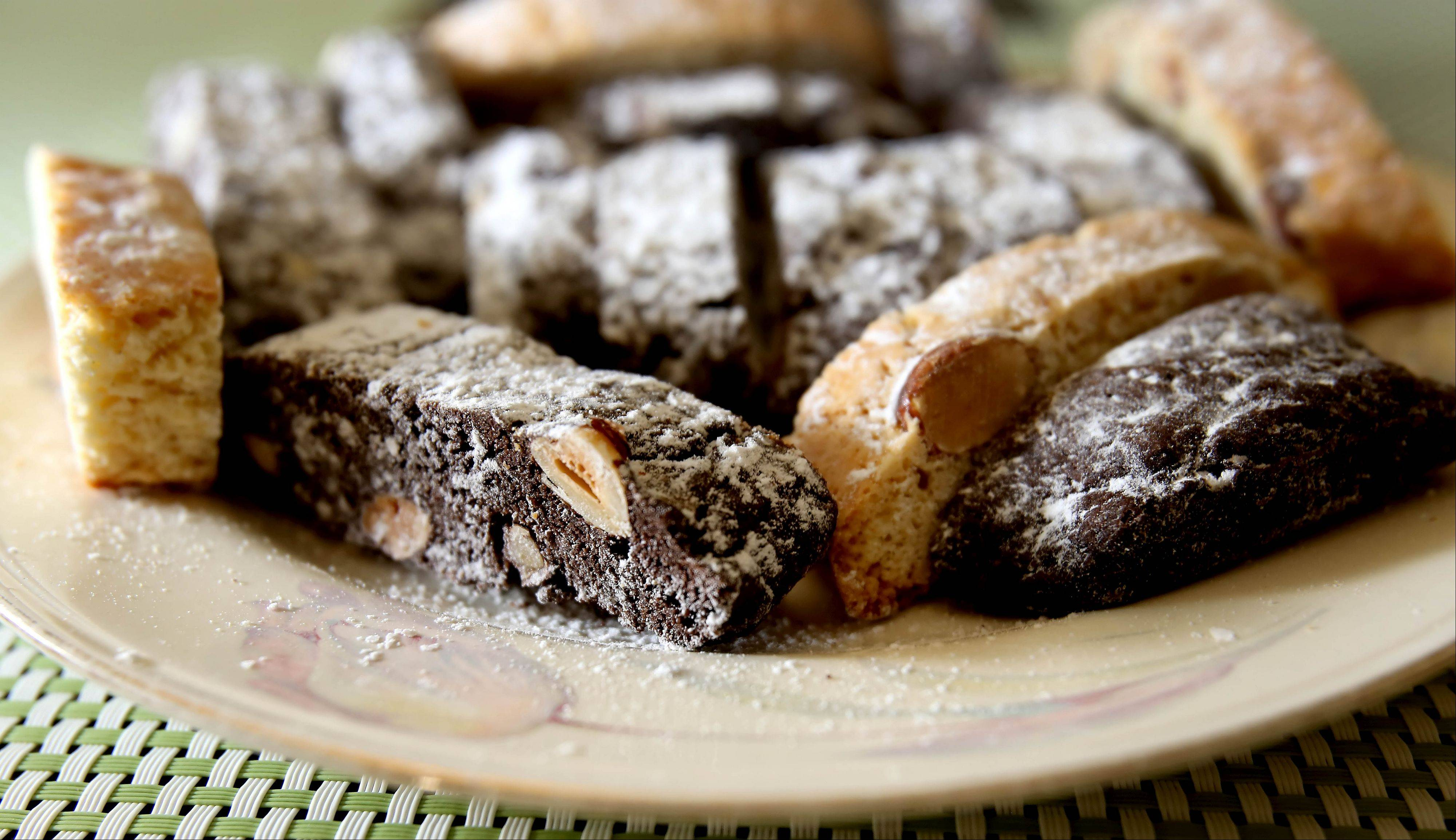 Biscotti is one of Rose Palma's favorite things to bake.