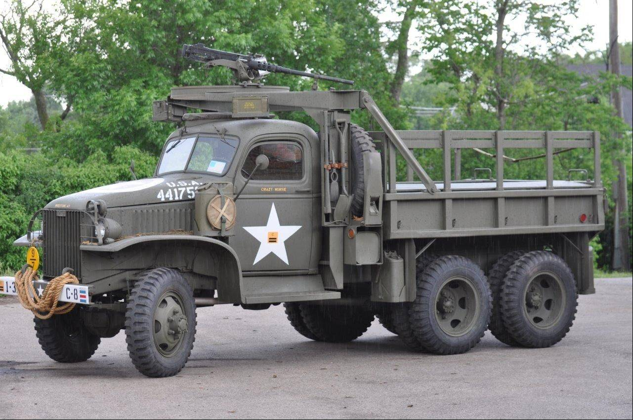 This recently donated World War II-era truck will be on display Thursday, June 6, during Cantigny Park�s commemoration of the 69th anniversary of D-Day.