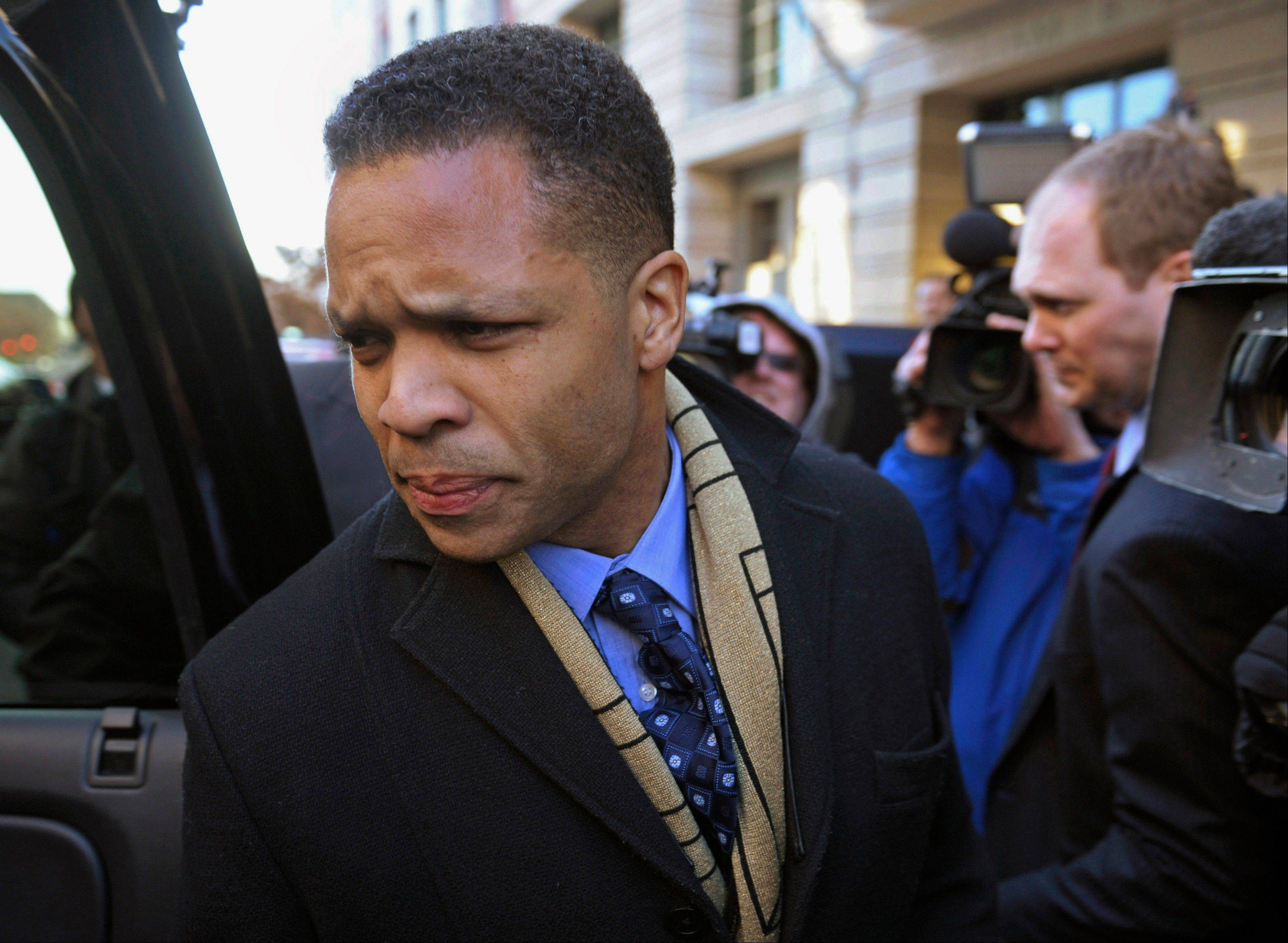 Former Congressman Jesse Jackson Jr. faces nearly five years in prison when he�s sentenced in July.