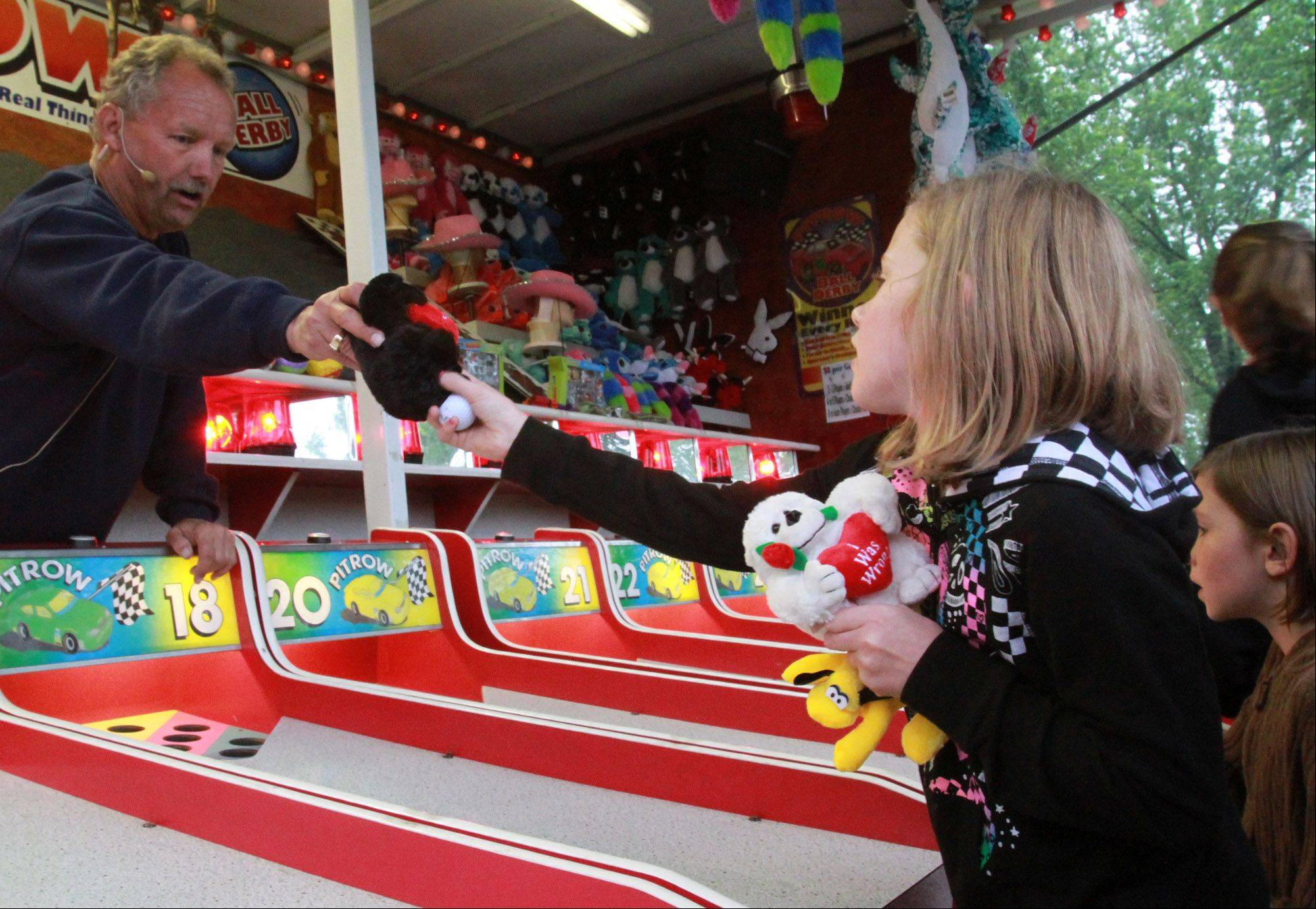 Carnival games will be one attraction at the Lake Villa Celebration of Summer this year.