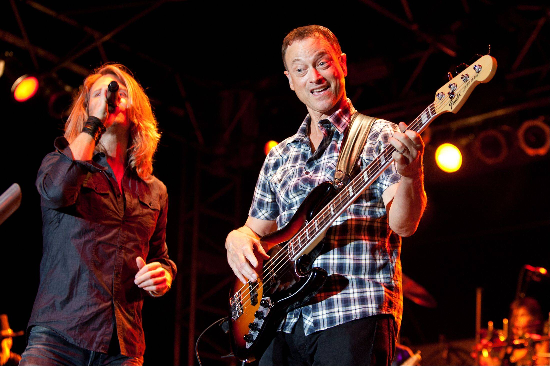 Gary Sinise and the Lt. Dan Band appear at Ravinia.