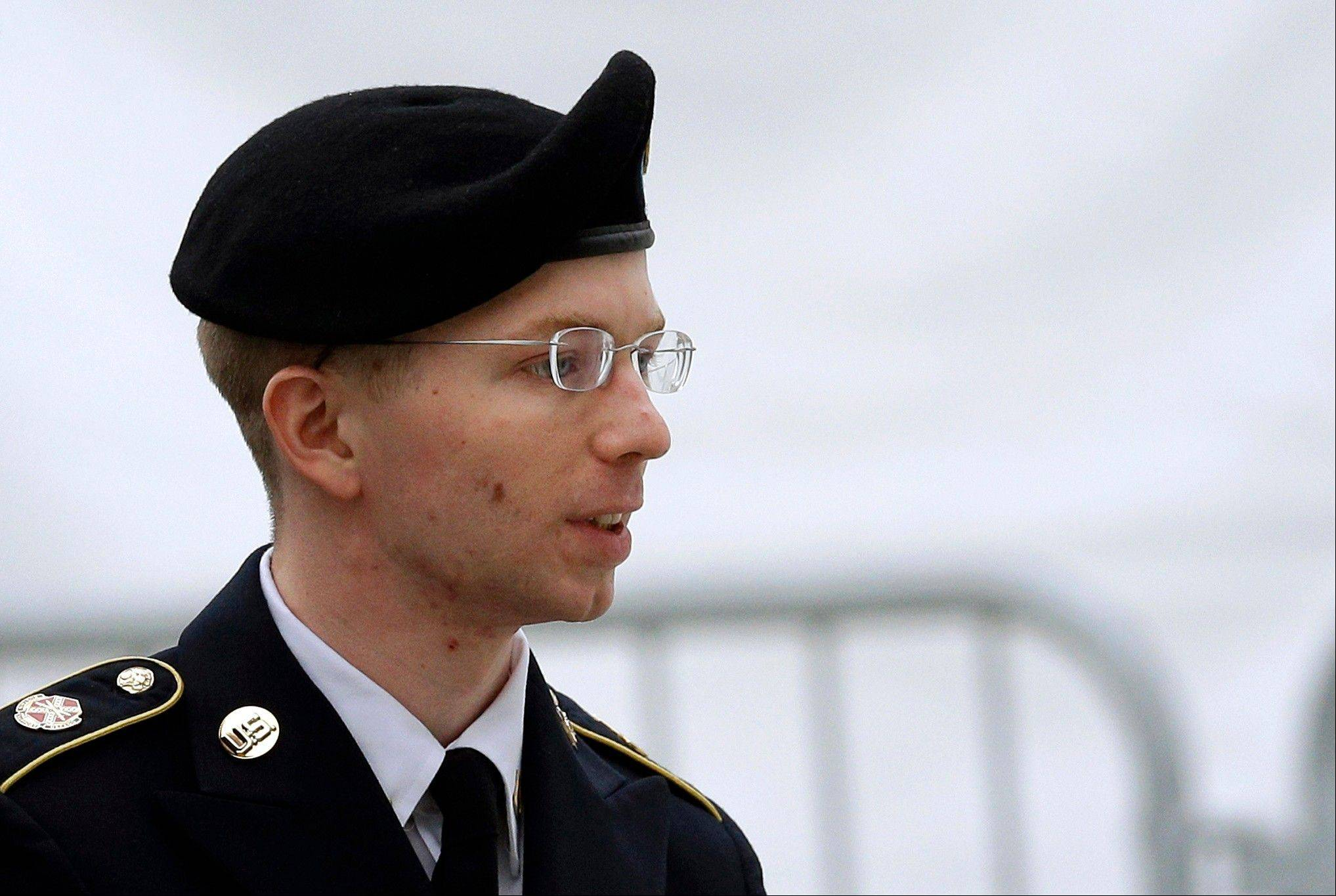 ASSOCIATED PRESSArmy Pfc. Bradley Manning Was arrested in Iraq more than three years ago and charged in the biggest leak of classified information in U.S. history.