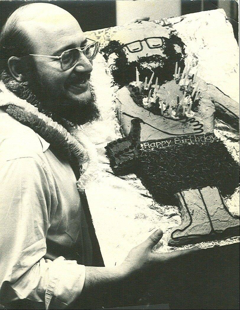 Stephanie Penick made this luau birthday cake for New York City advertising man Jerry Della Femina in the early 1970s.