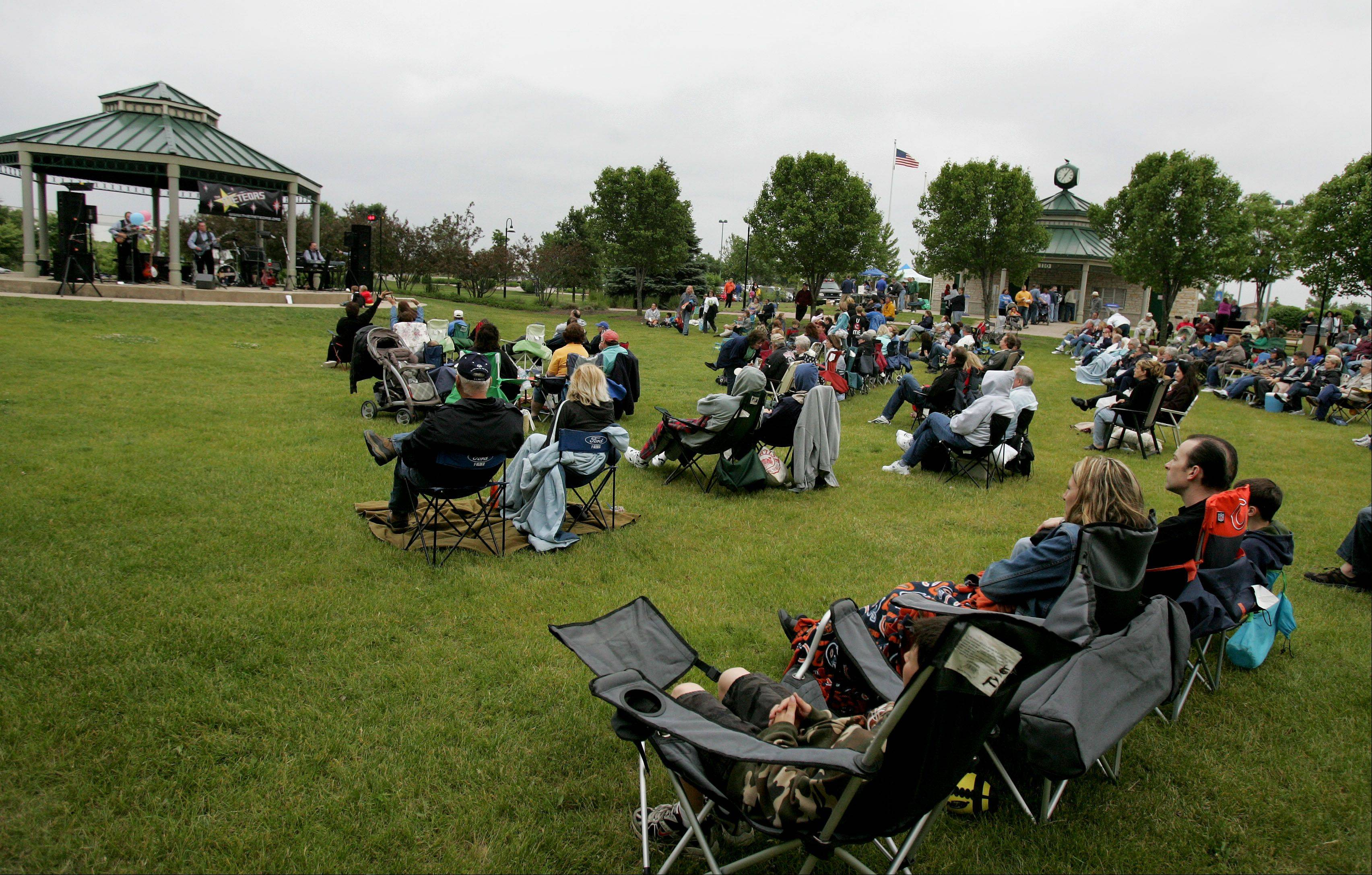 The 16th annual Summer Concert Series in Carol Stream kicks off Thursday at the Ross Ferraro Town Center.
