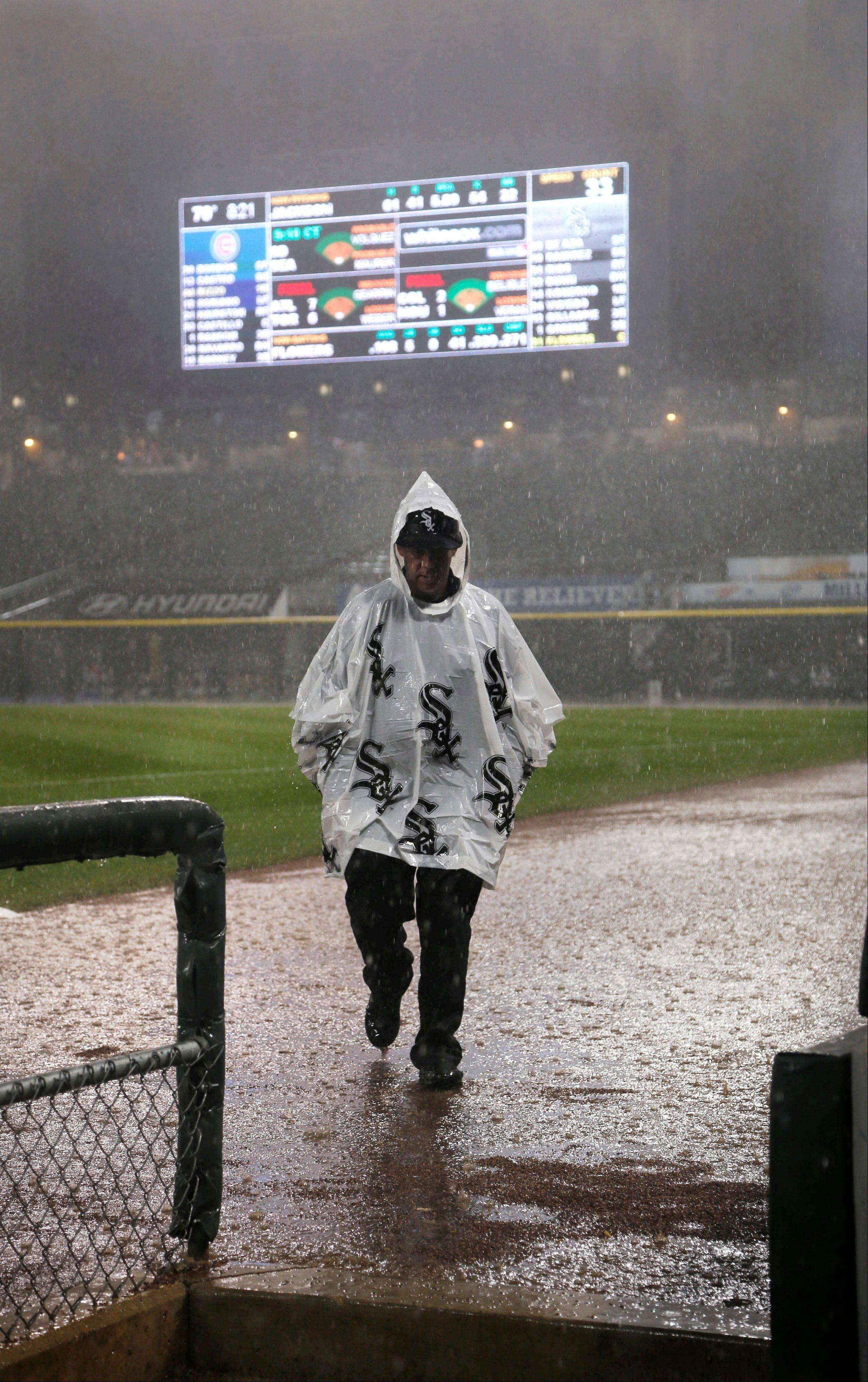 After getting rained out on May 28, the White Sox and the Cubs will play a makeup game on July 8 at U.S. Cellular Field.