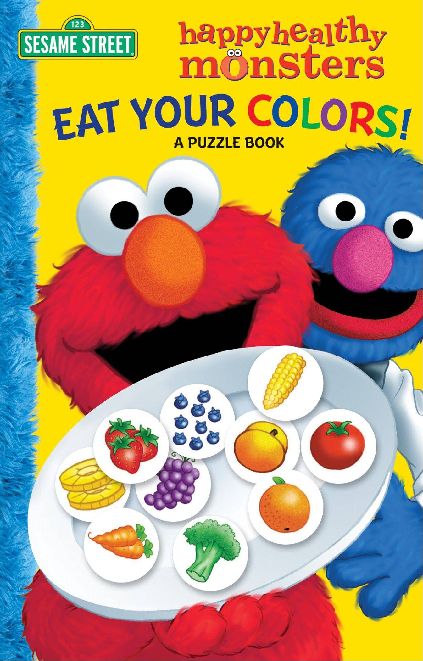 �Eat Your Colors! A Puzzle Book� by Sarah Albee and Joe Matthieu.