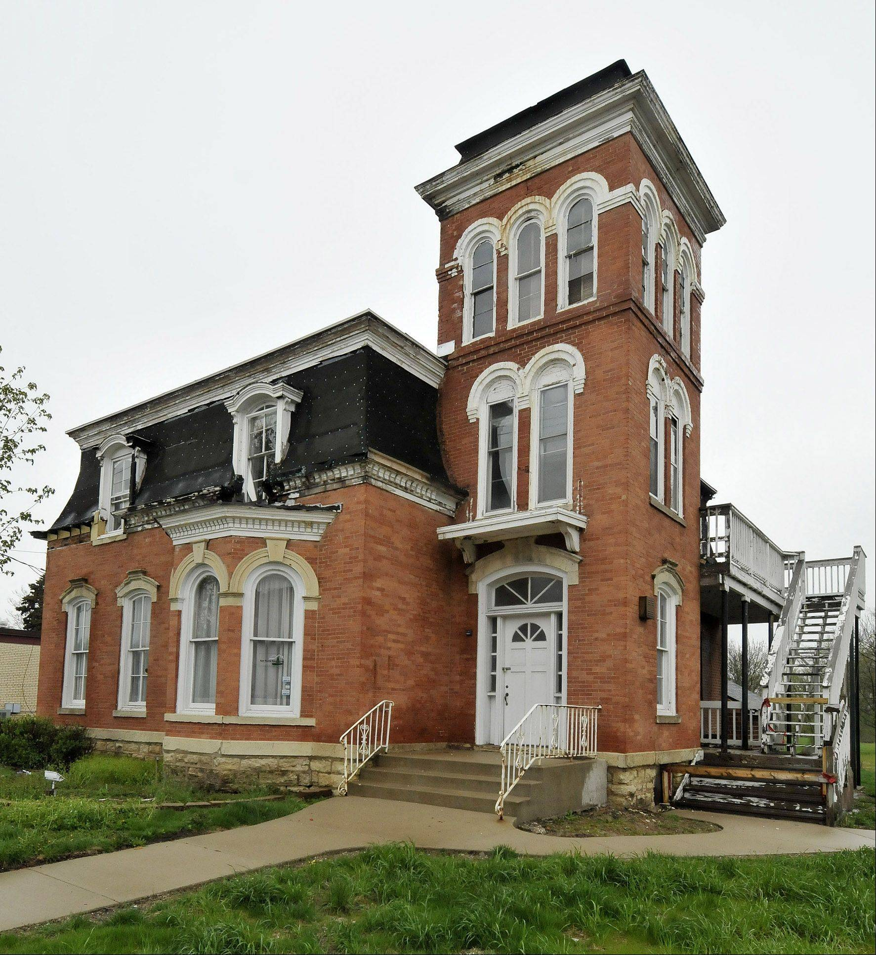 West Chicago is seeking permission from the city's historical preservation commission to demolish the Joel Wiant House, which is located at 151 W. Washington St.