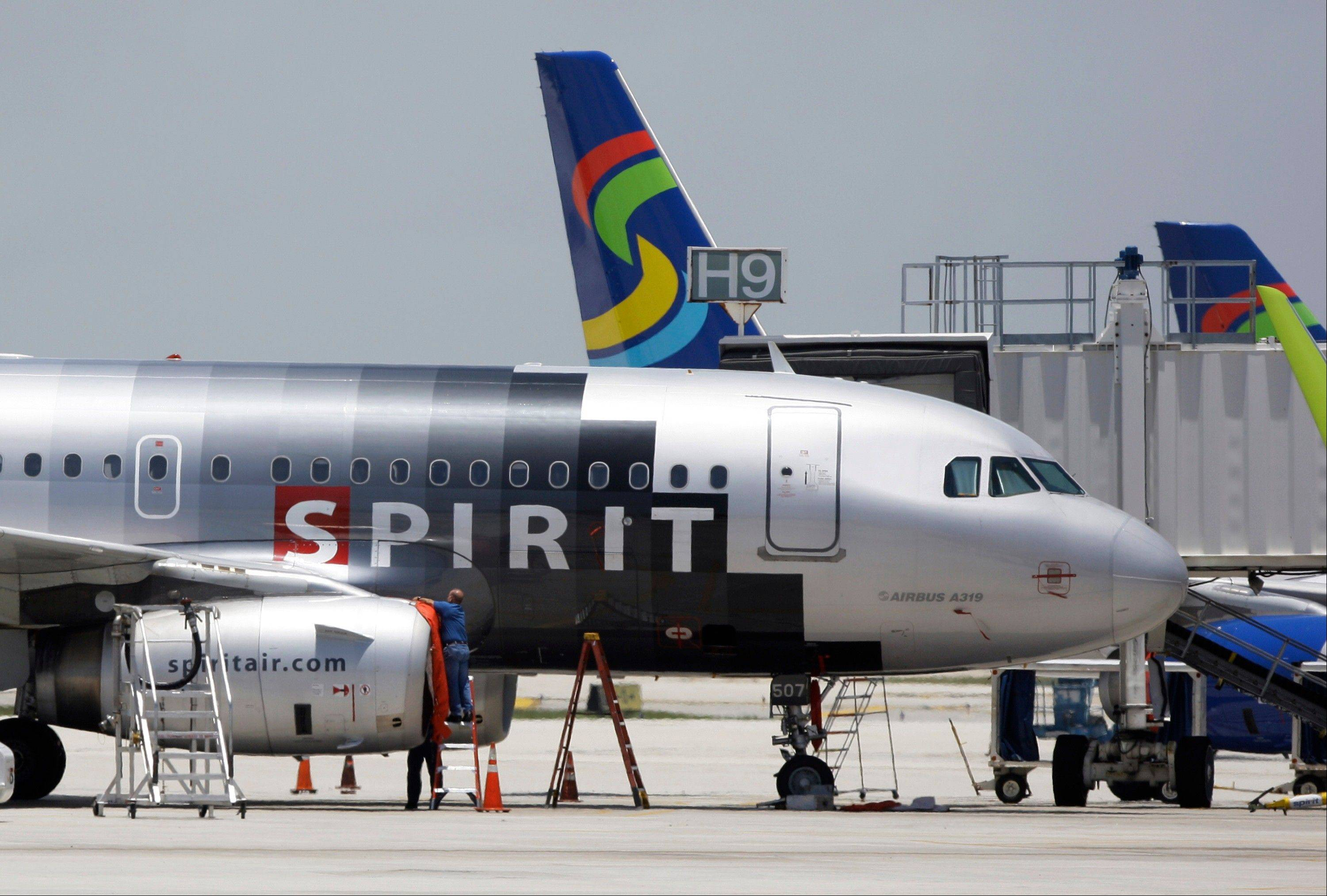 Beginning this week, Spirit Airlines will start serving wine in cans, saying the cans are easier to store, and they weigh less than bottles.
