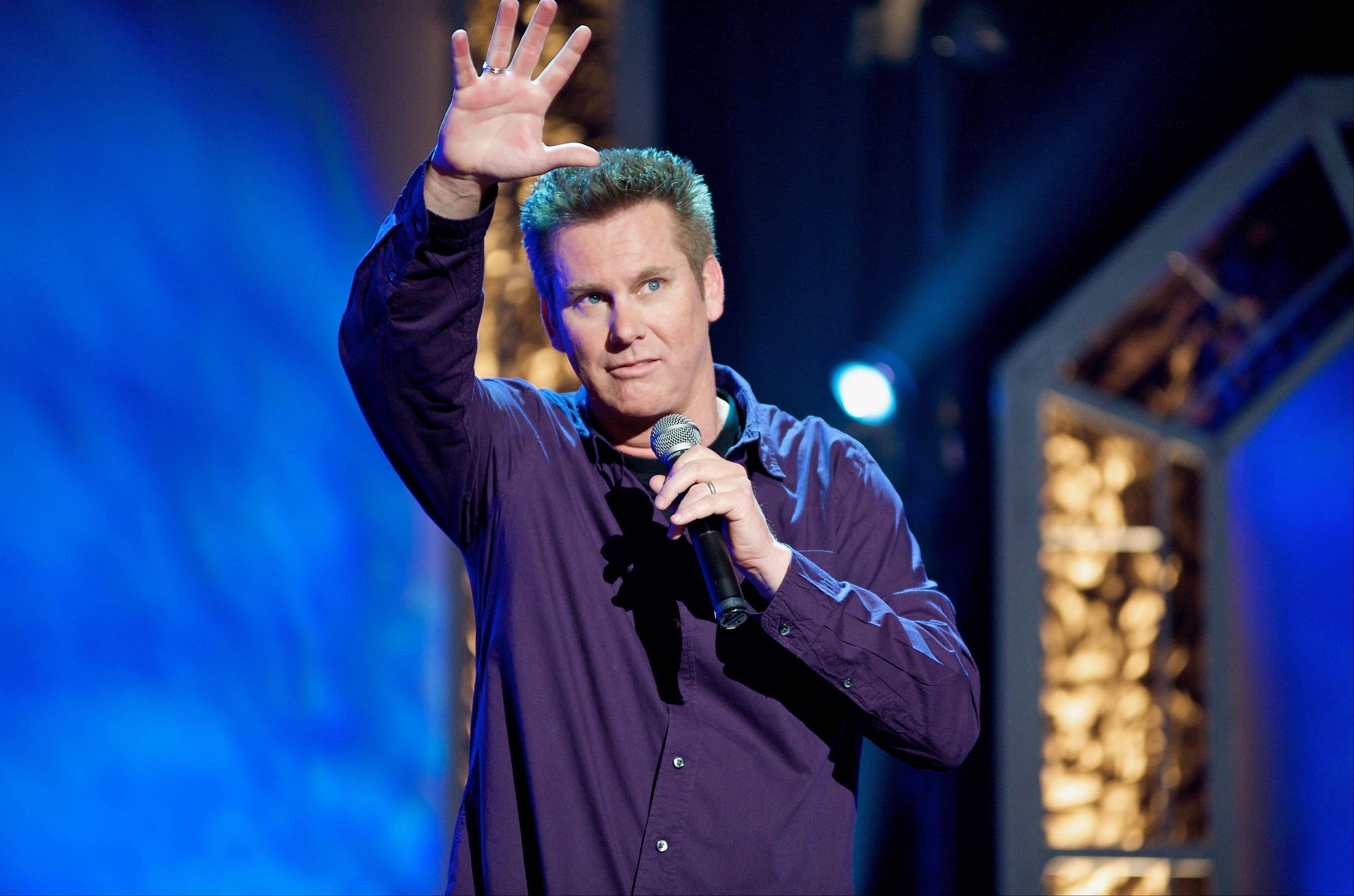 Comedian Brian Regan performs Friday at the Improv Comedy Showcase in Schaumburg.
