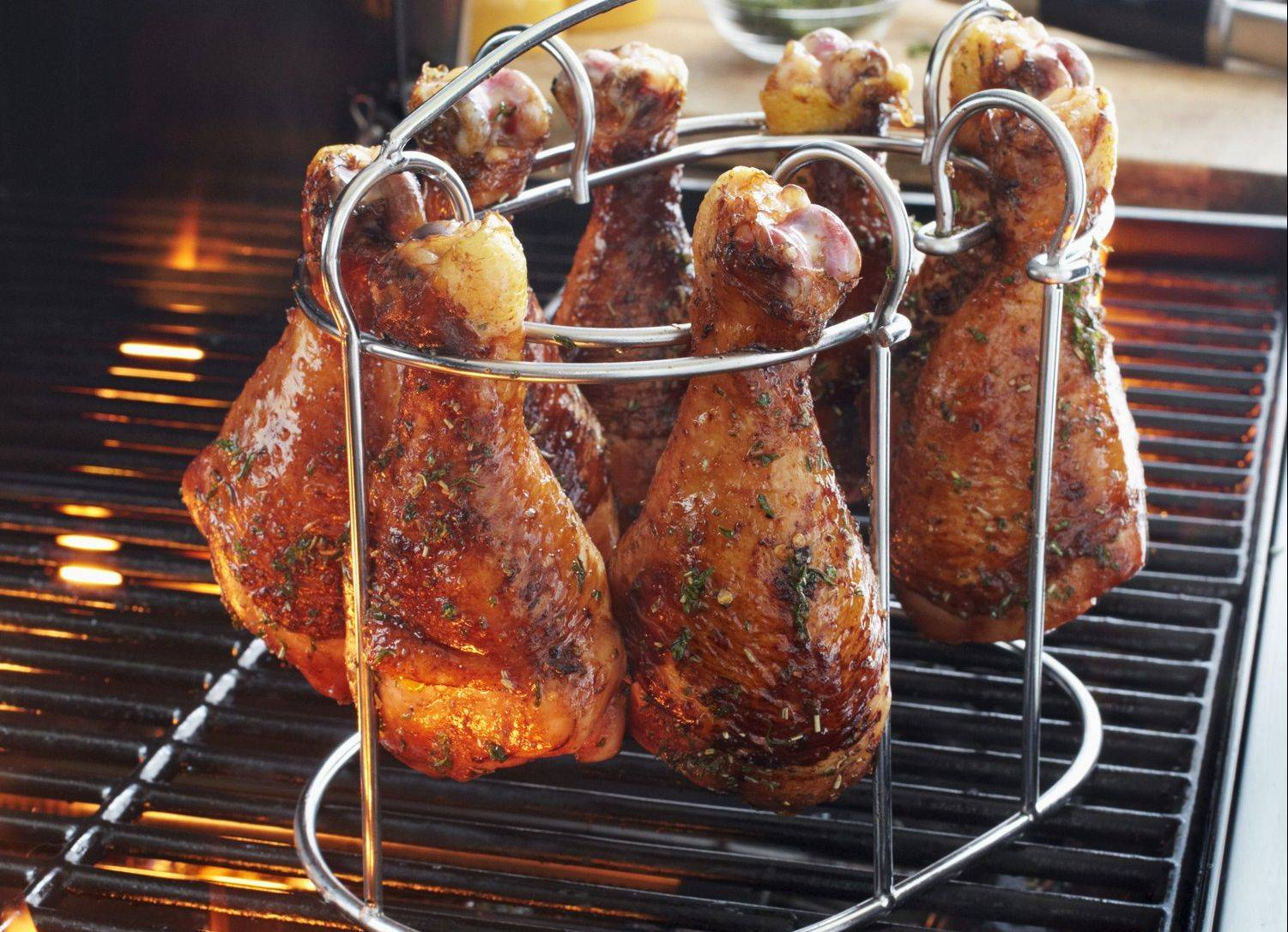 Chicken Leg and Wing Rack