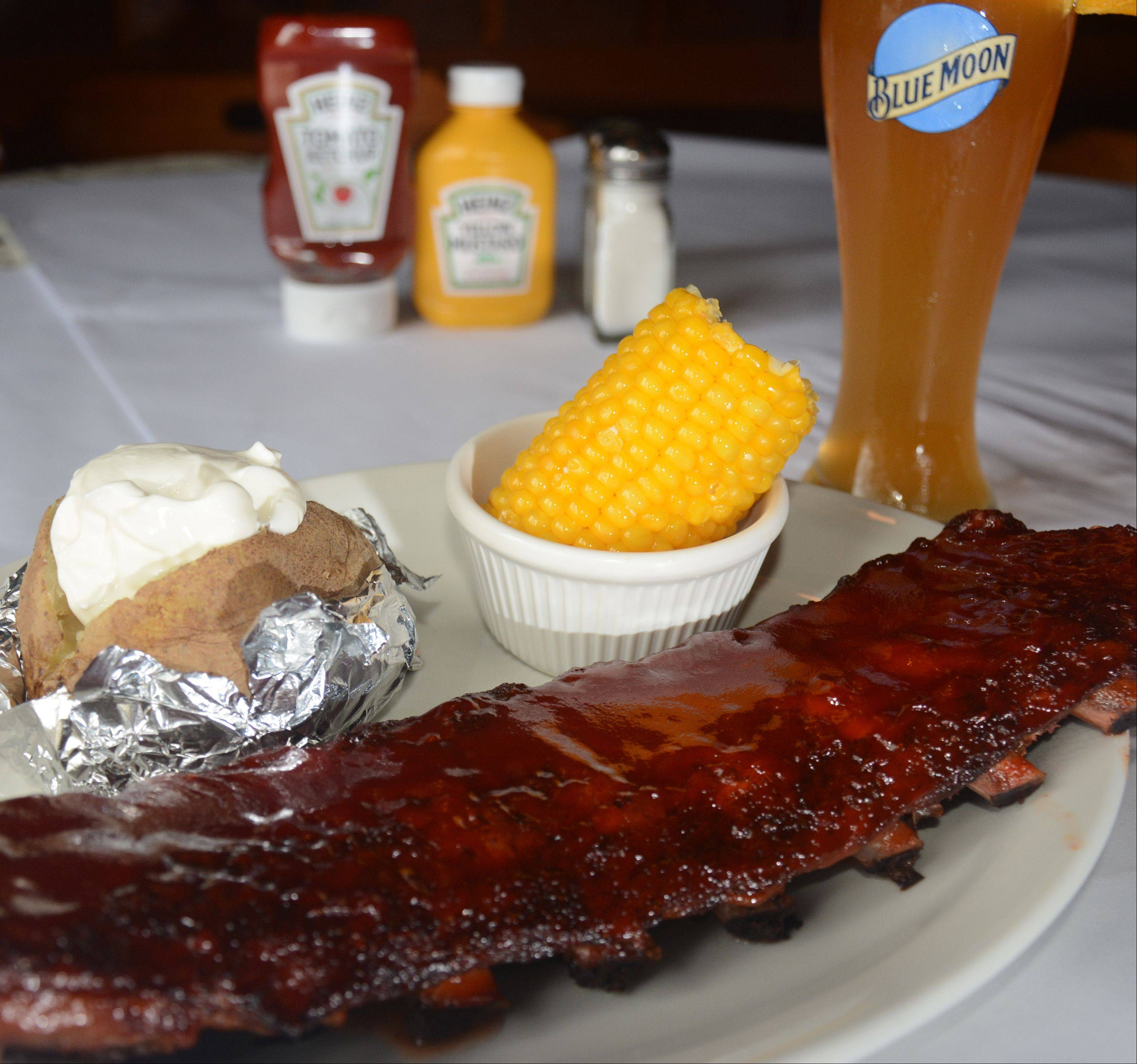 Ribs remain a favorite among patrons at Brandt's in Palatine.