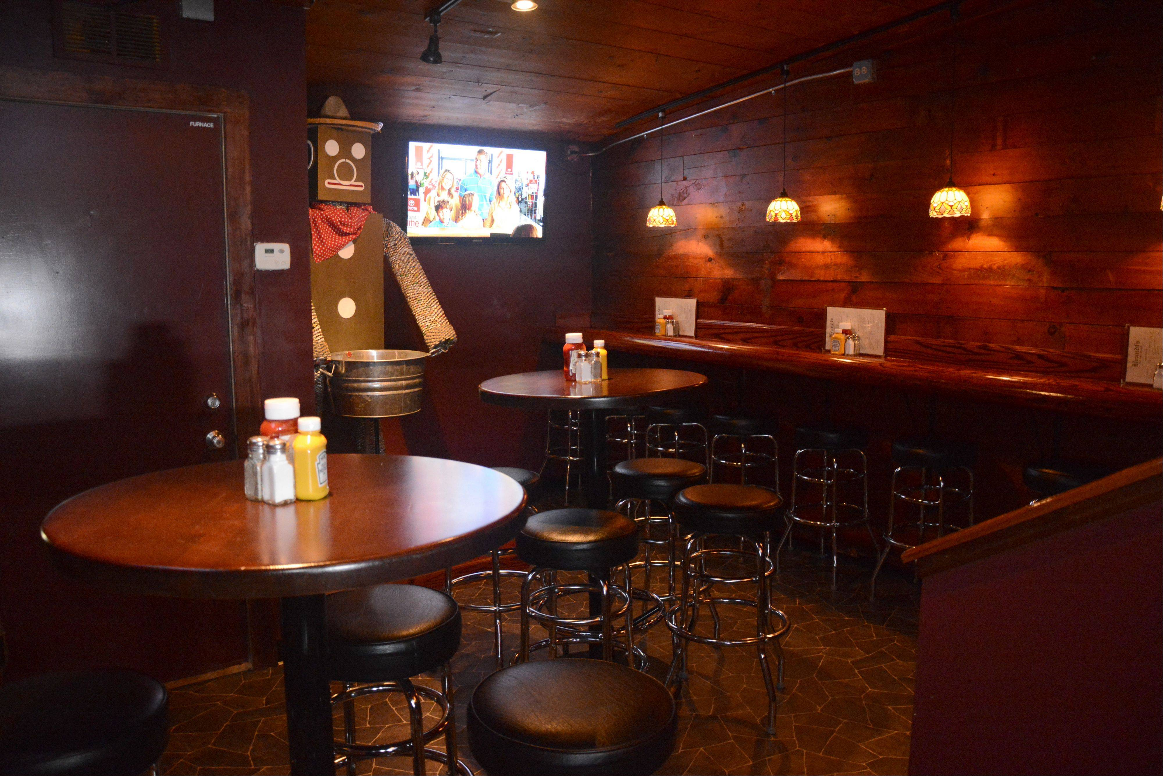 The pub room at Brandt's in Palatine was recently renovated.