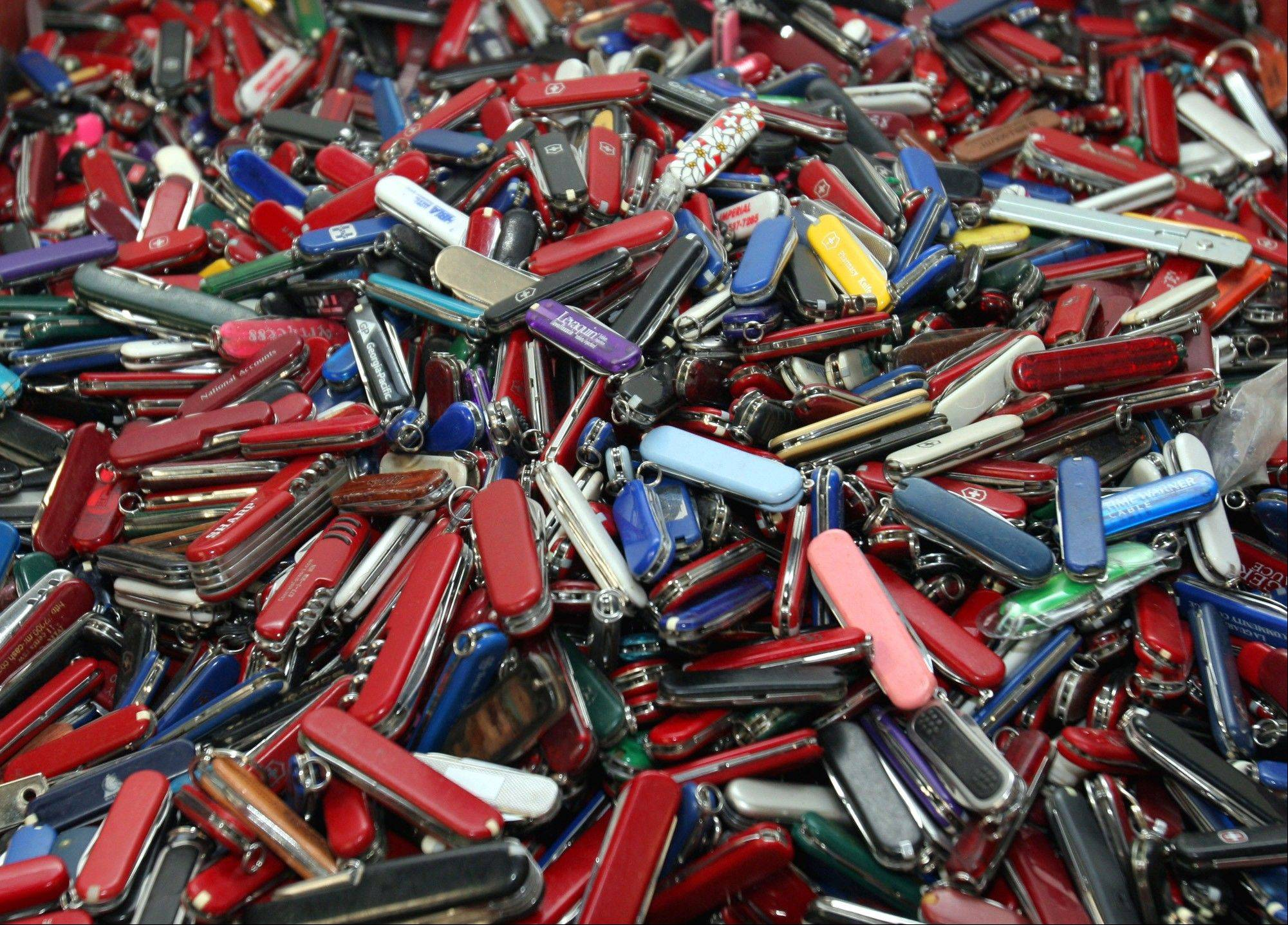 John Pistole, head of the Transportation Security Administration says he's dropping a proposal that would have let airline passengers carry small knives, souvenir bats, golf clubs and other sports equipment onto planes. The proposal had drawn fierce opposition.