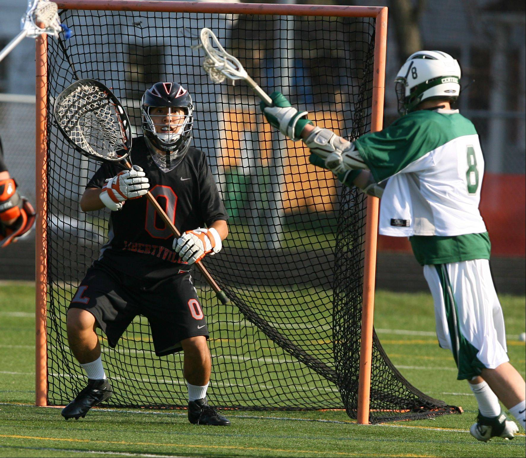 Libertyville junior goalie Cole Blazer earned all-American honors in helping the Wildcats advance to the state Final Four this spring.
