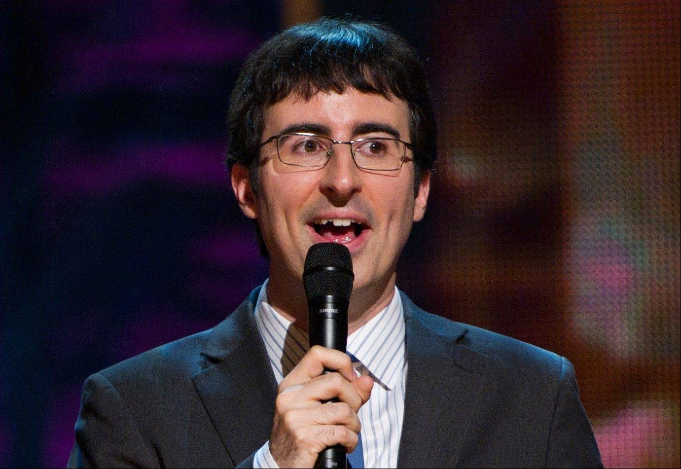 "John Oliver will host ""The Daily Show"" on Comedy Central starting Monday. He will substitute-anchor for eight weeks of new shows before Jon Stewart's return on Sept. 3."