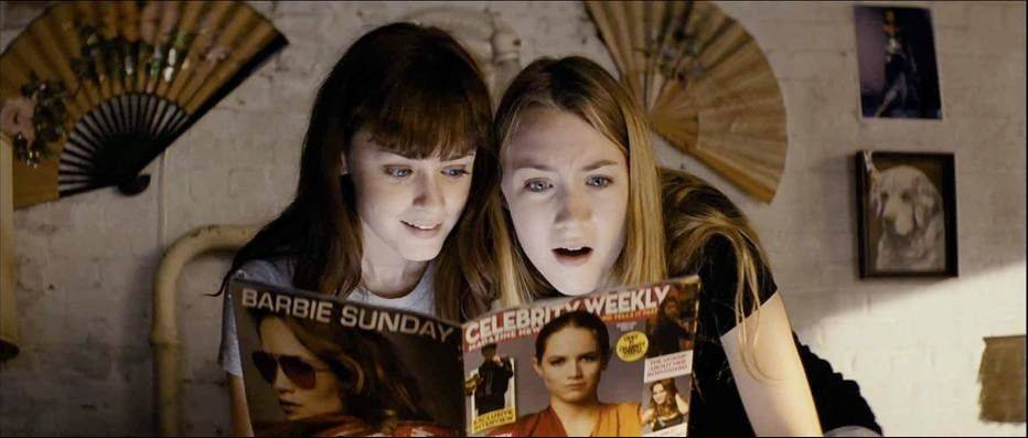"Two teenage mob assassins (Alexis Bledel and Saoirse Ronan) take an extra job so they can afford new dresses in the problematic black comedy ""Violet and Daisy."""