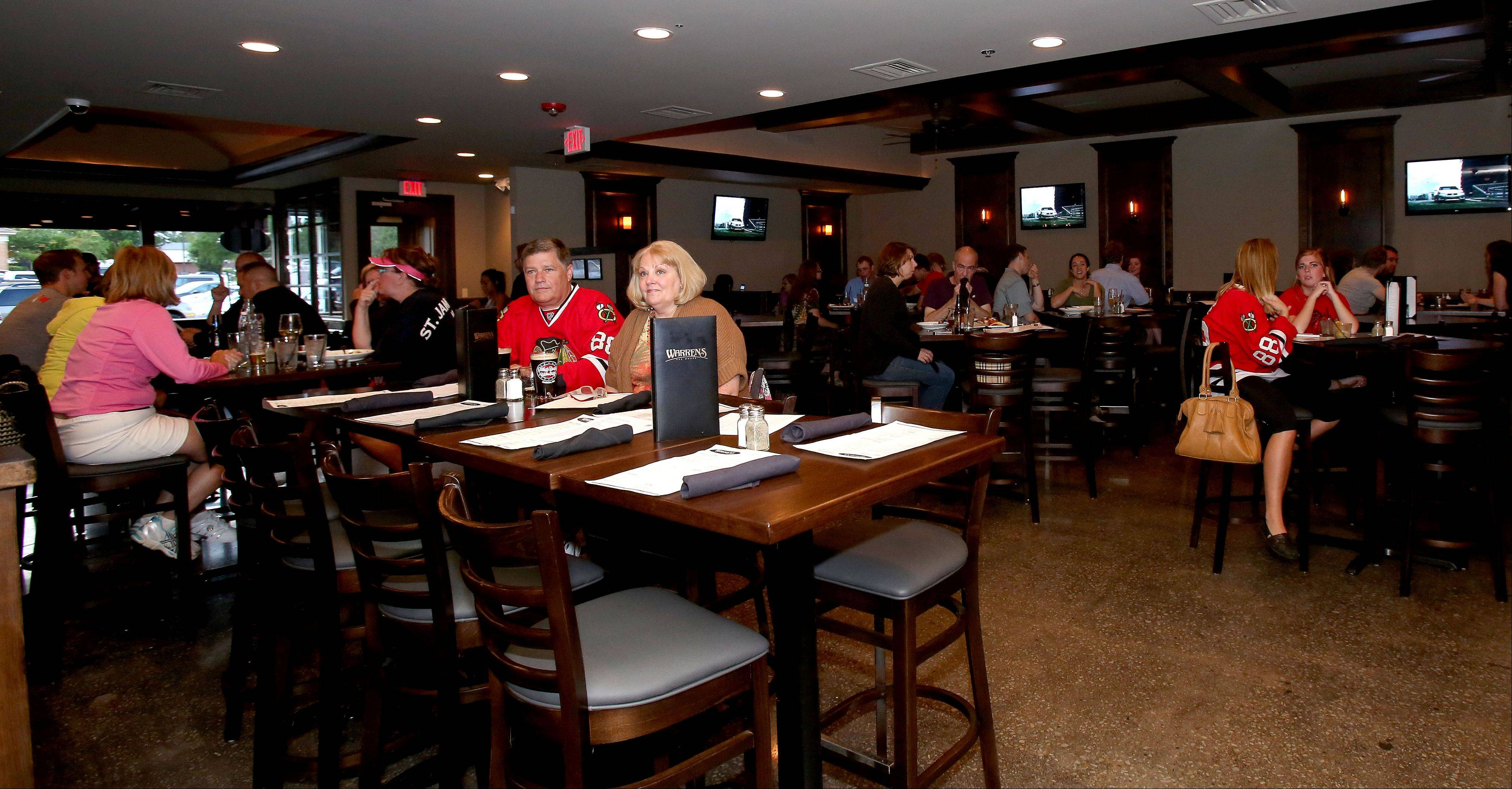 Warren's Ale House in Wheaton opened in January.