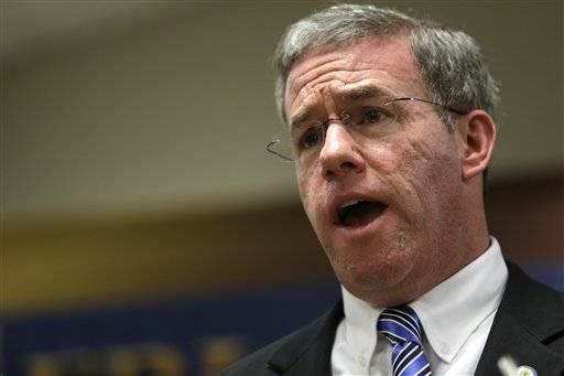 New Jersey Gov. Chris Christie named a longtime colleague, state Attorney General Jeffrey Chiesa, to temporarily fill the U.S. Senate seat Thursday that opened up this week after Frank Lautenberg's death.